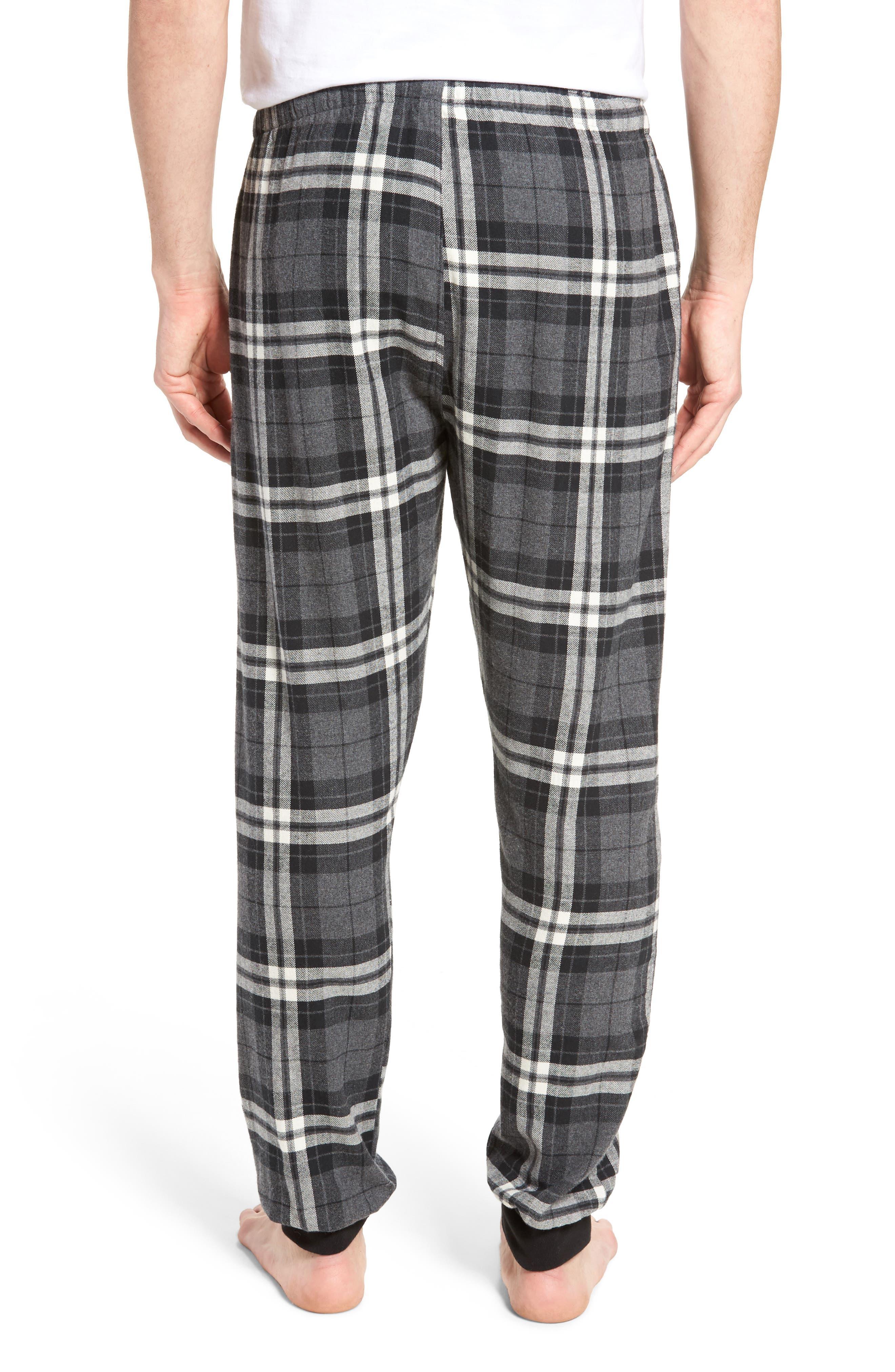 Flannel Pajama Jogger Pants,                             Alternate thumbnail 2, color,                             022