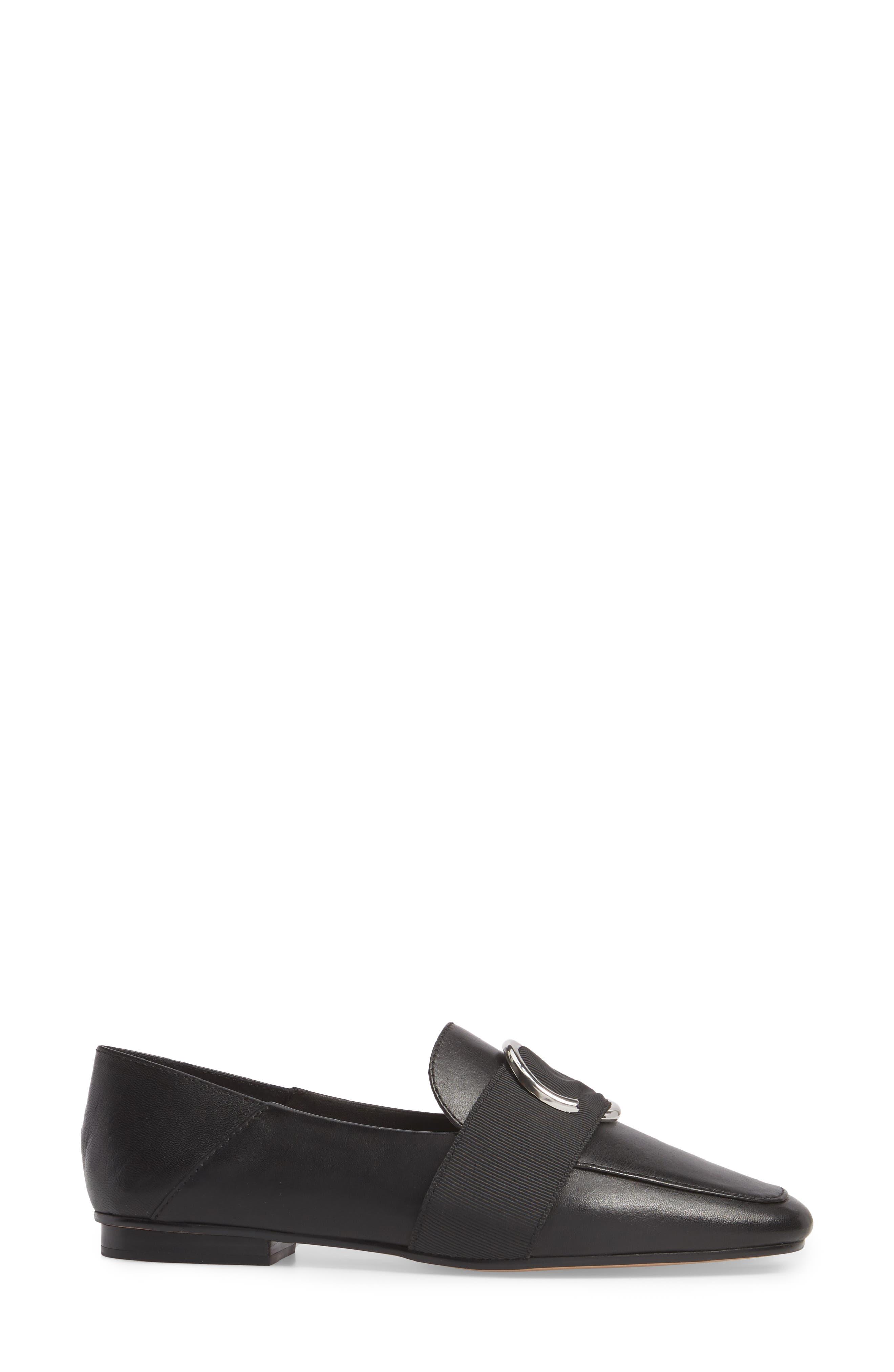 Ilani Convertible Slip Ring Loafer,                             Alternate thumbnail 3, color,                             001