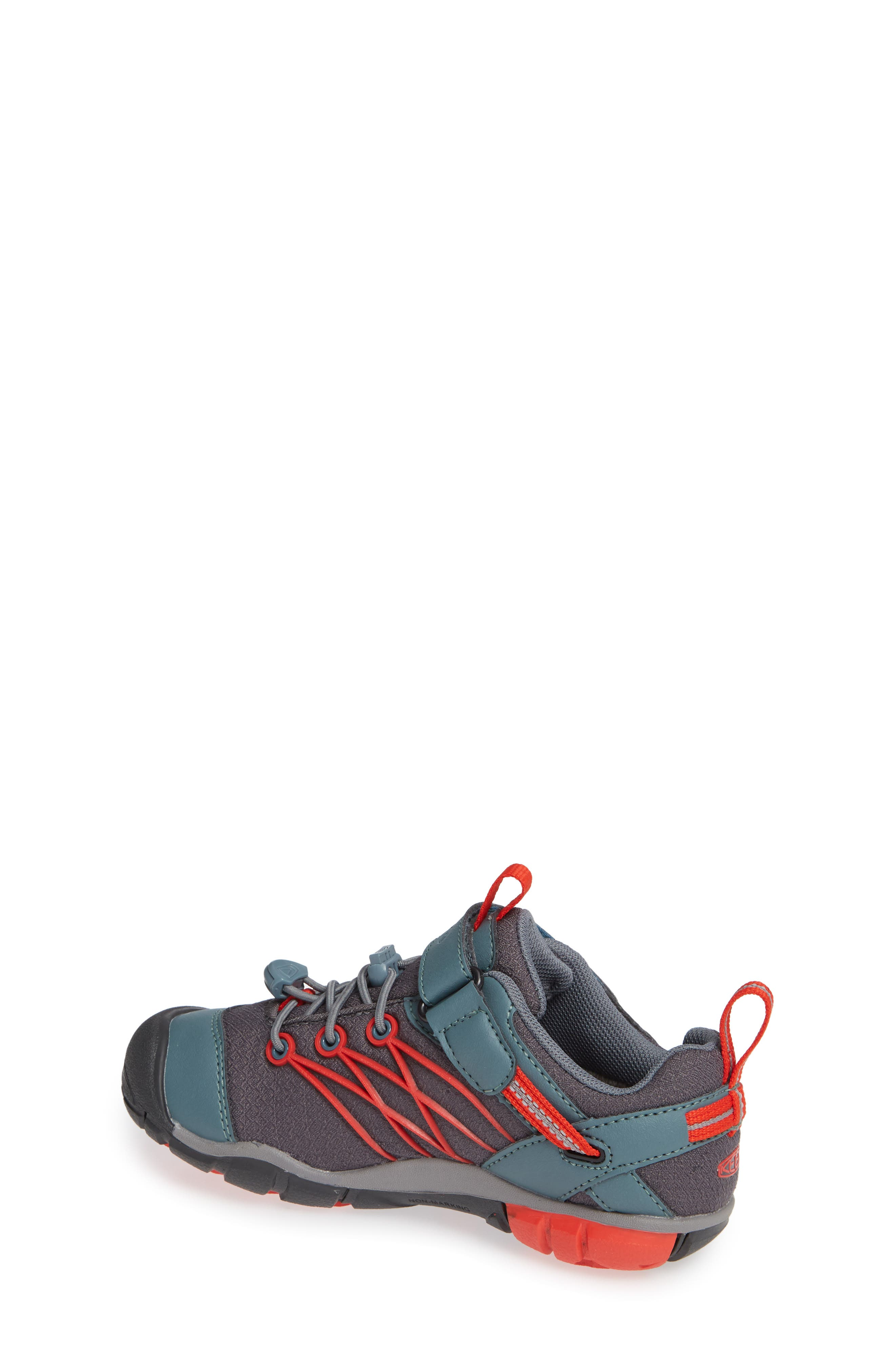 'Chandler CNX' Water Repellent Sneaker,                             Alternate thumbnail 2, color,                             STORMY WEATHER/ FIRE RED