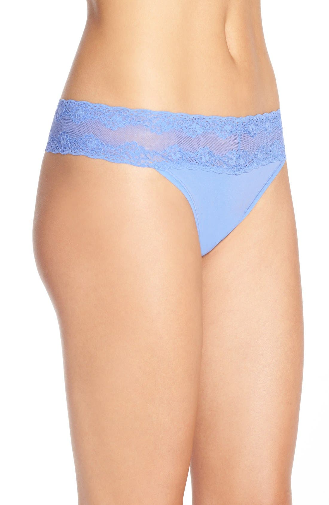 Bliss Perfection Thong,                             Alternate thumbnail 353, color,