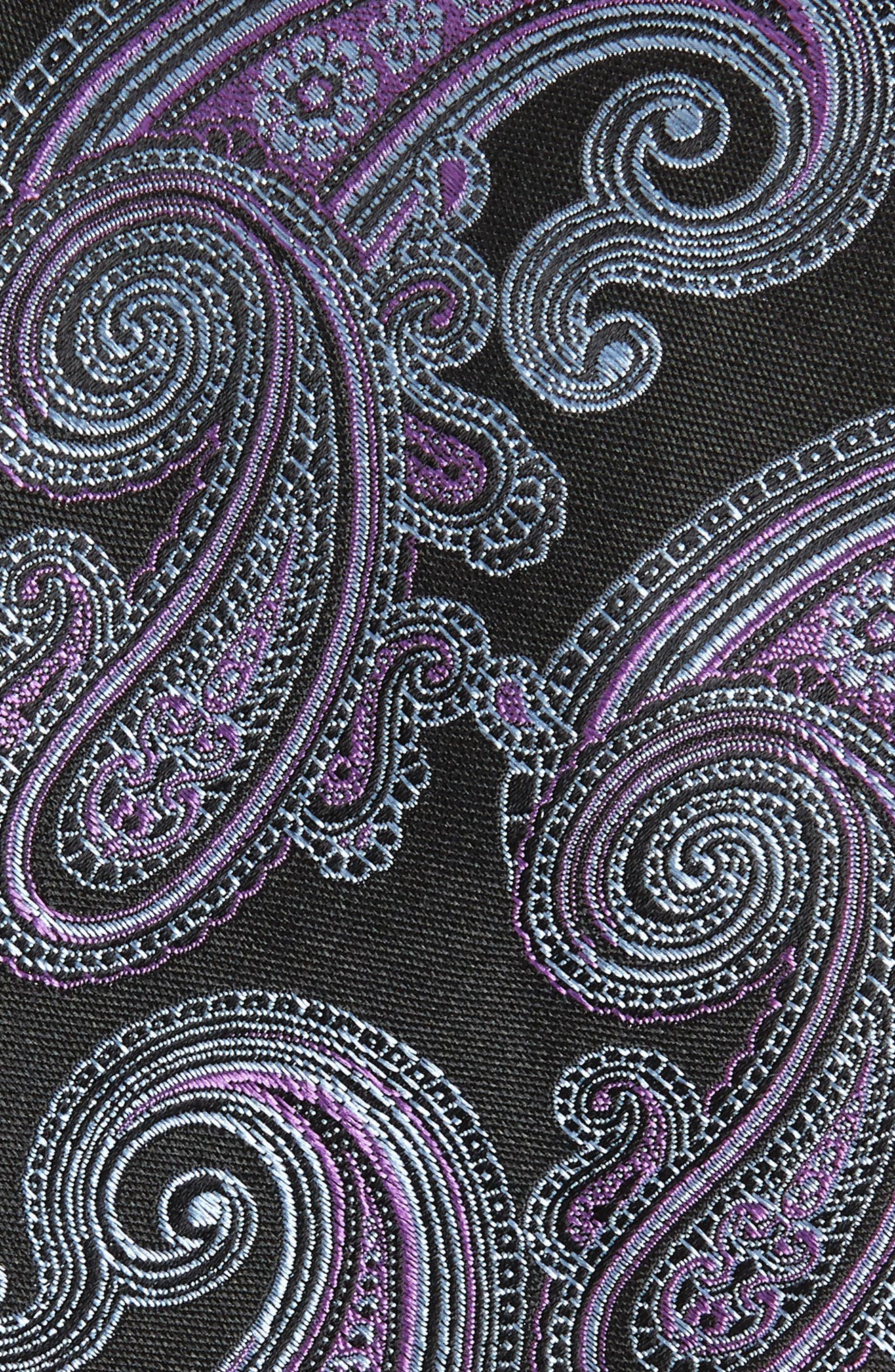 Swanee Paisley Silk Tie,                             Alternate thumbnail 2, color,                             001
