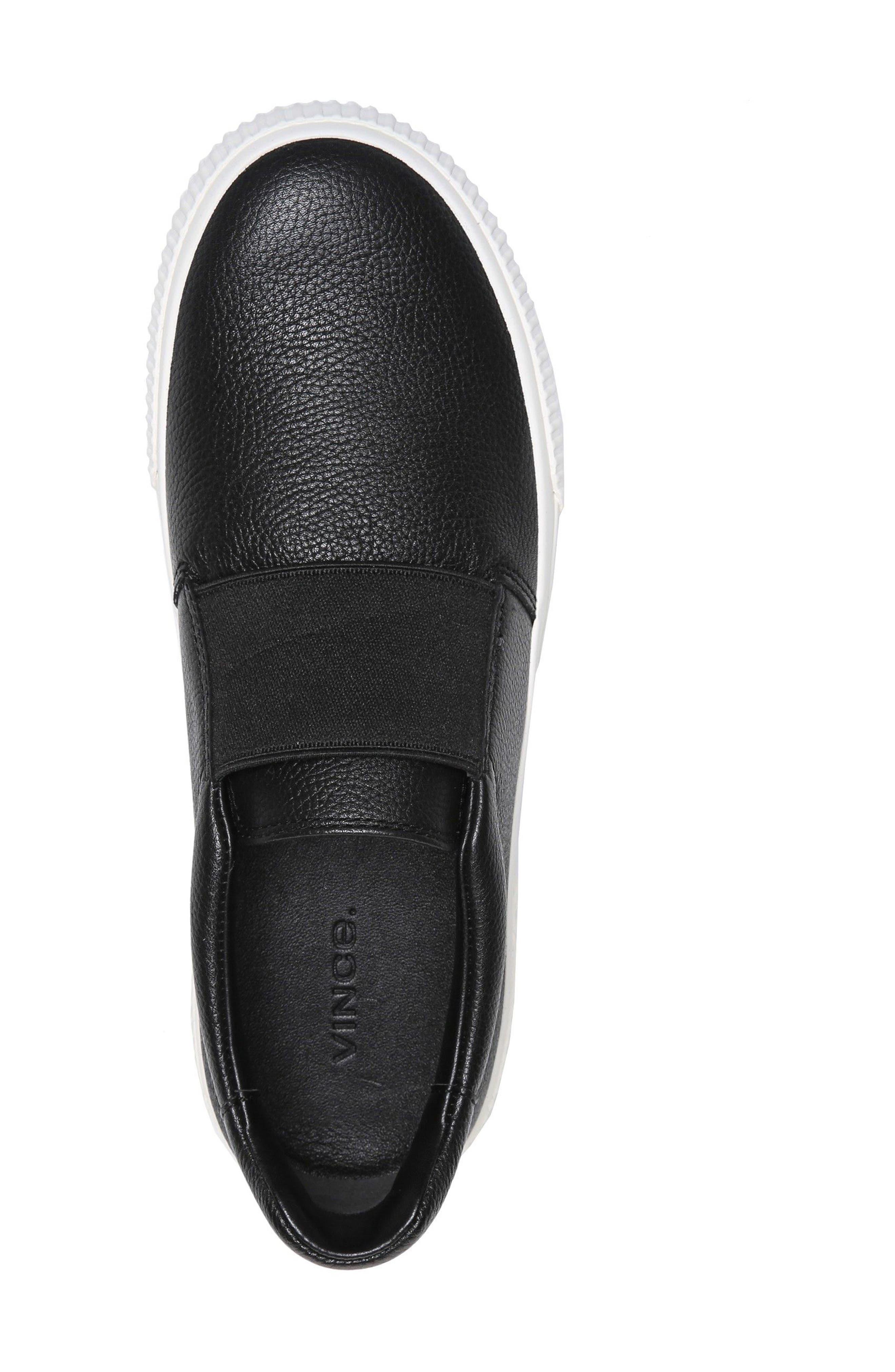 Kirkland Slip-On Sneaker,                             Alternate thumbnail 5, color,                             001