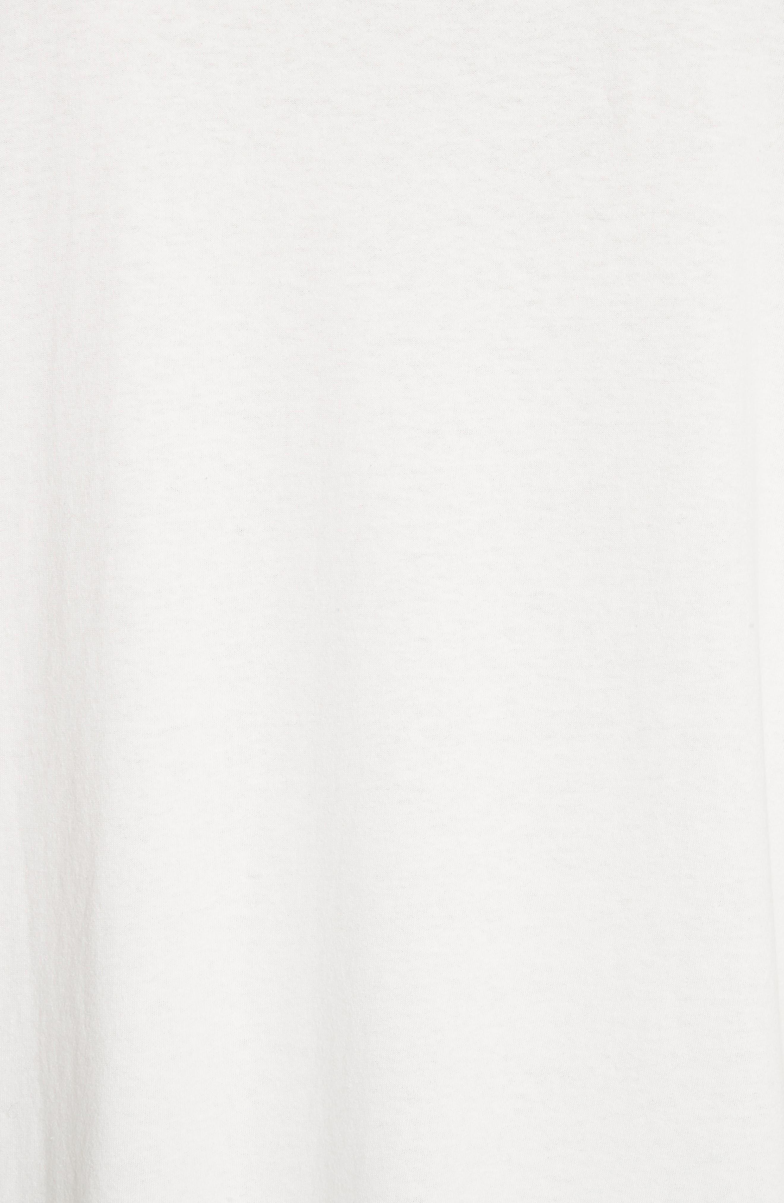 Box Fit Pocket T-Shirt,                             Alternate thumbnail 5, color,                             WHITE