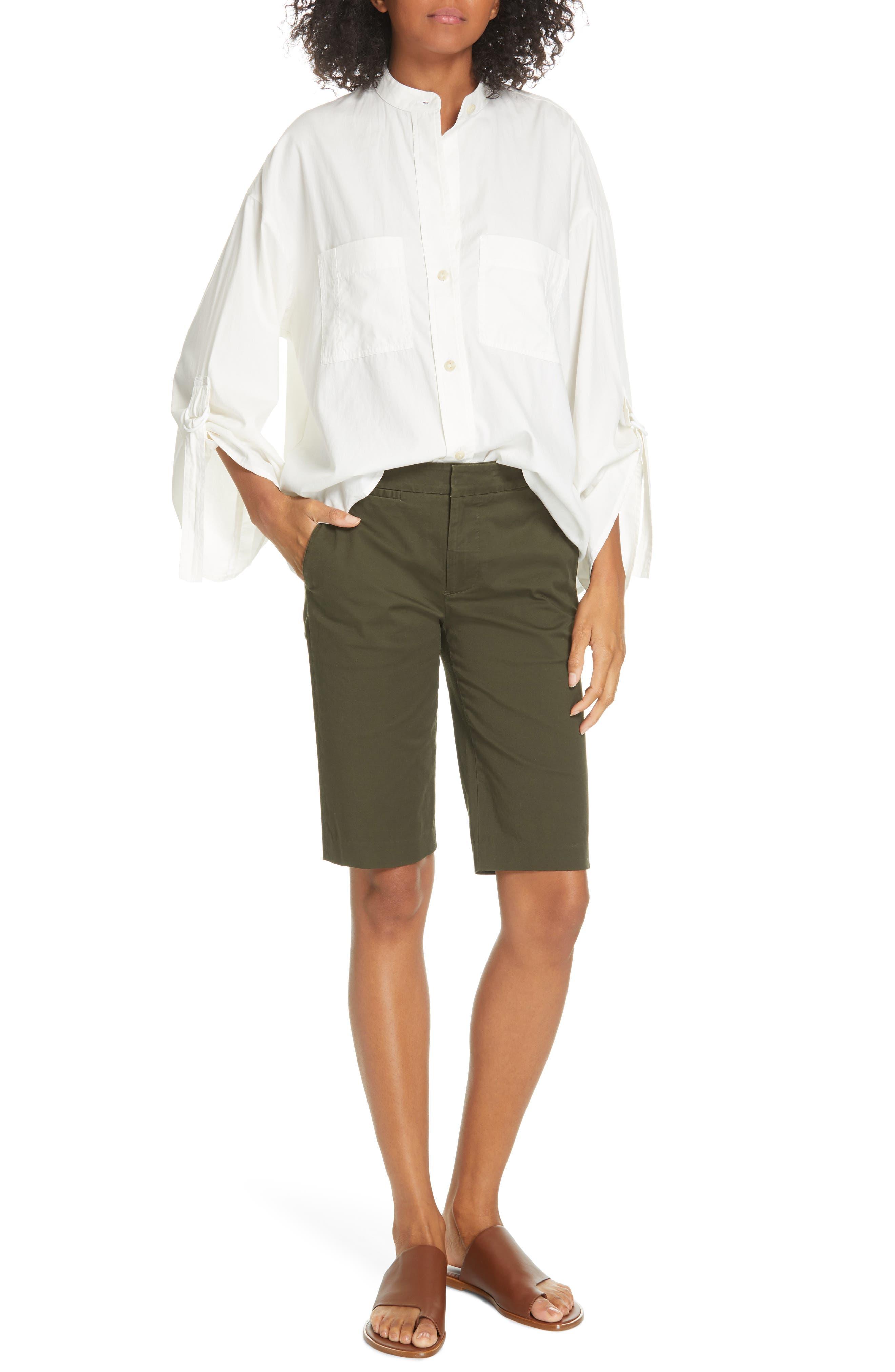 VINCE,                             Bermuda Shorts,                             Alternate thumbnail 7, color,                             ALPINE
