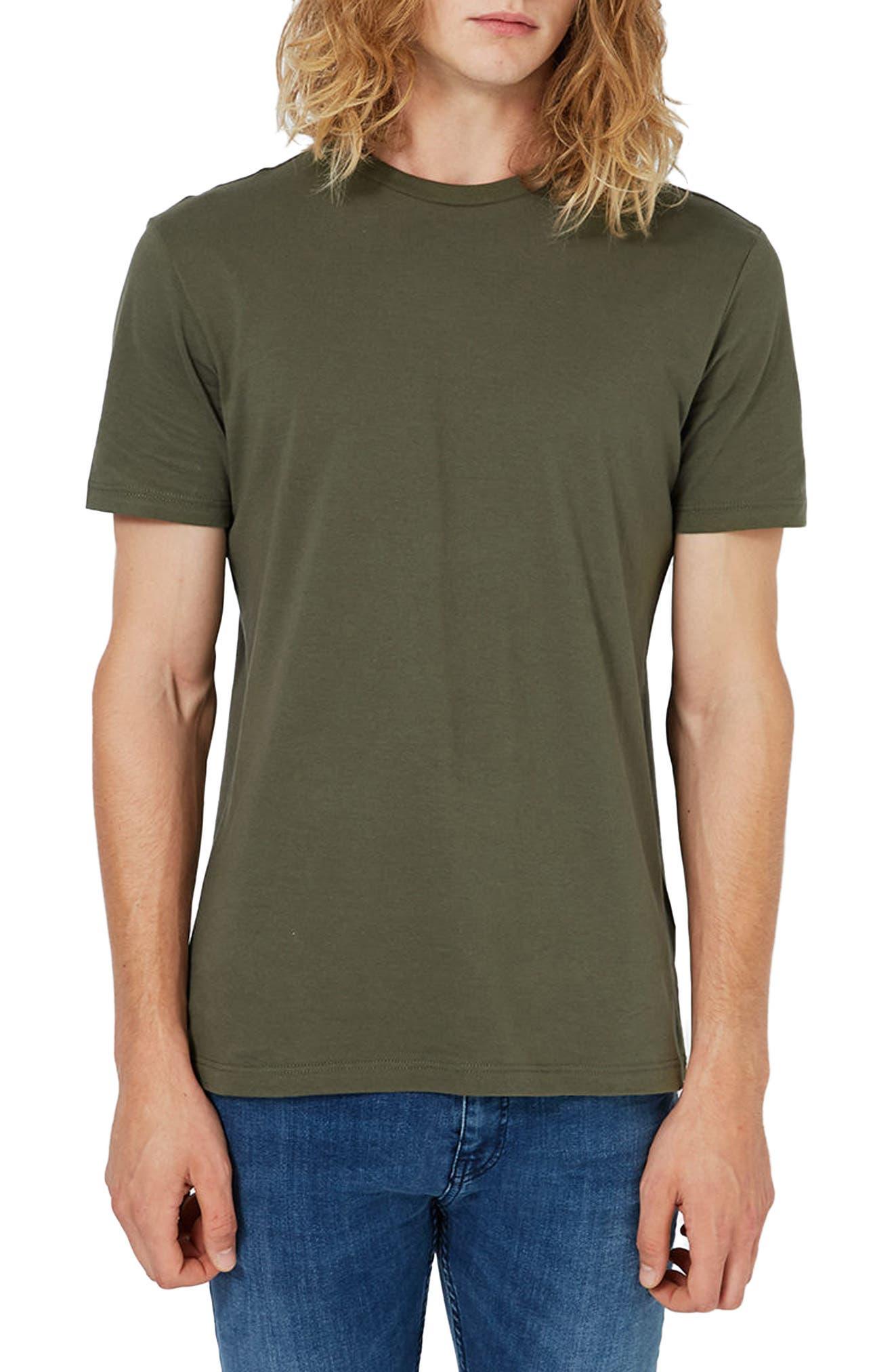 Slim Fit Crewneck T-Shirt,                             Alternate thumbnail 144, color,