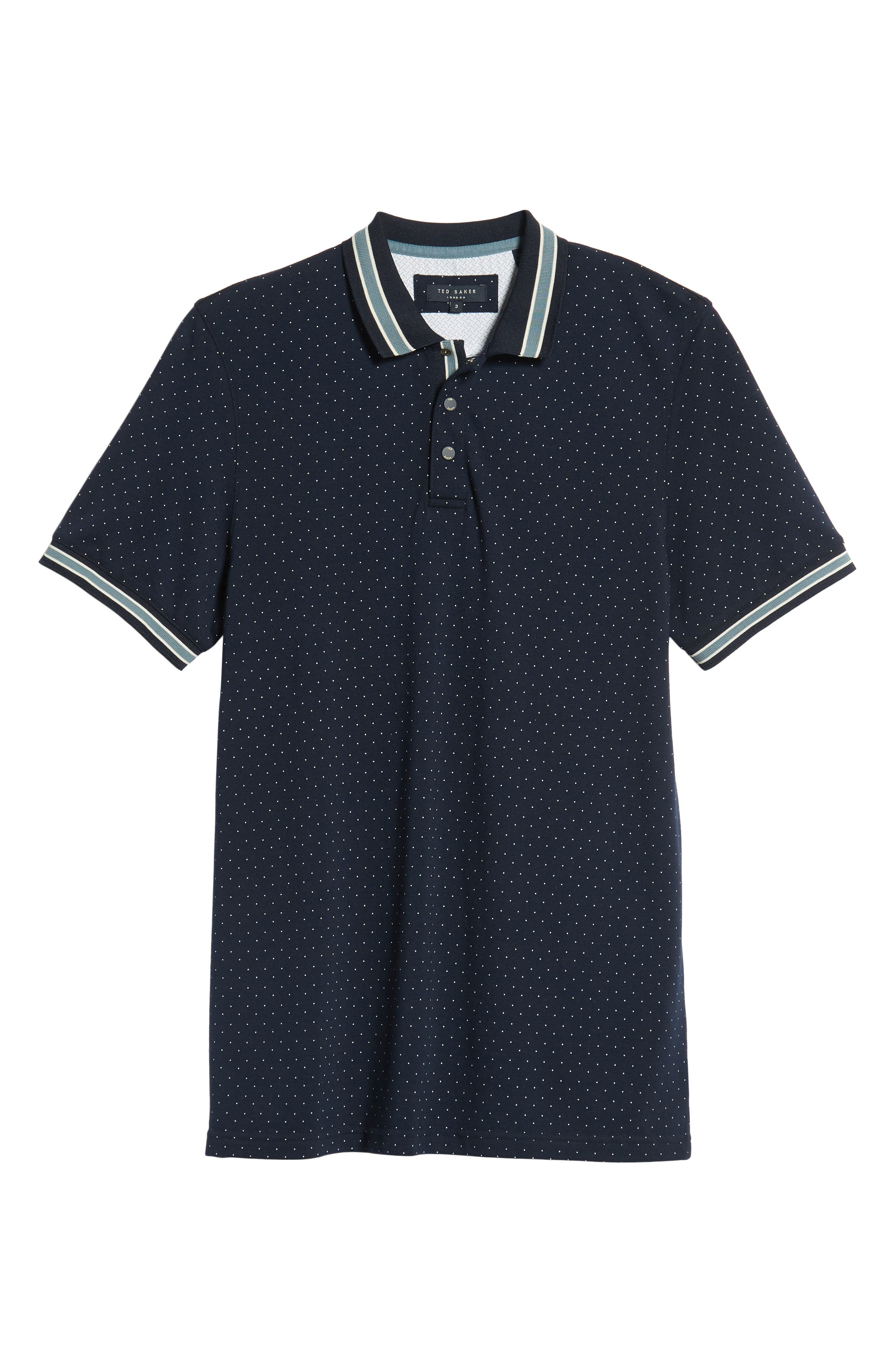 Museo Slim Fit Tipped Piqué Polo,                             Alternate thumbnail 6, color,                             410
