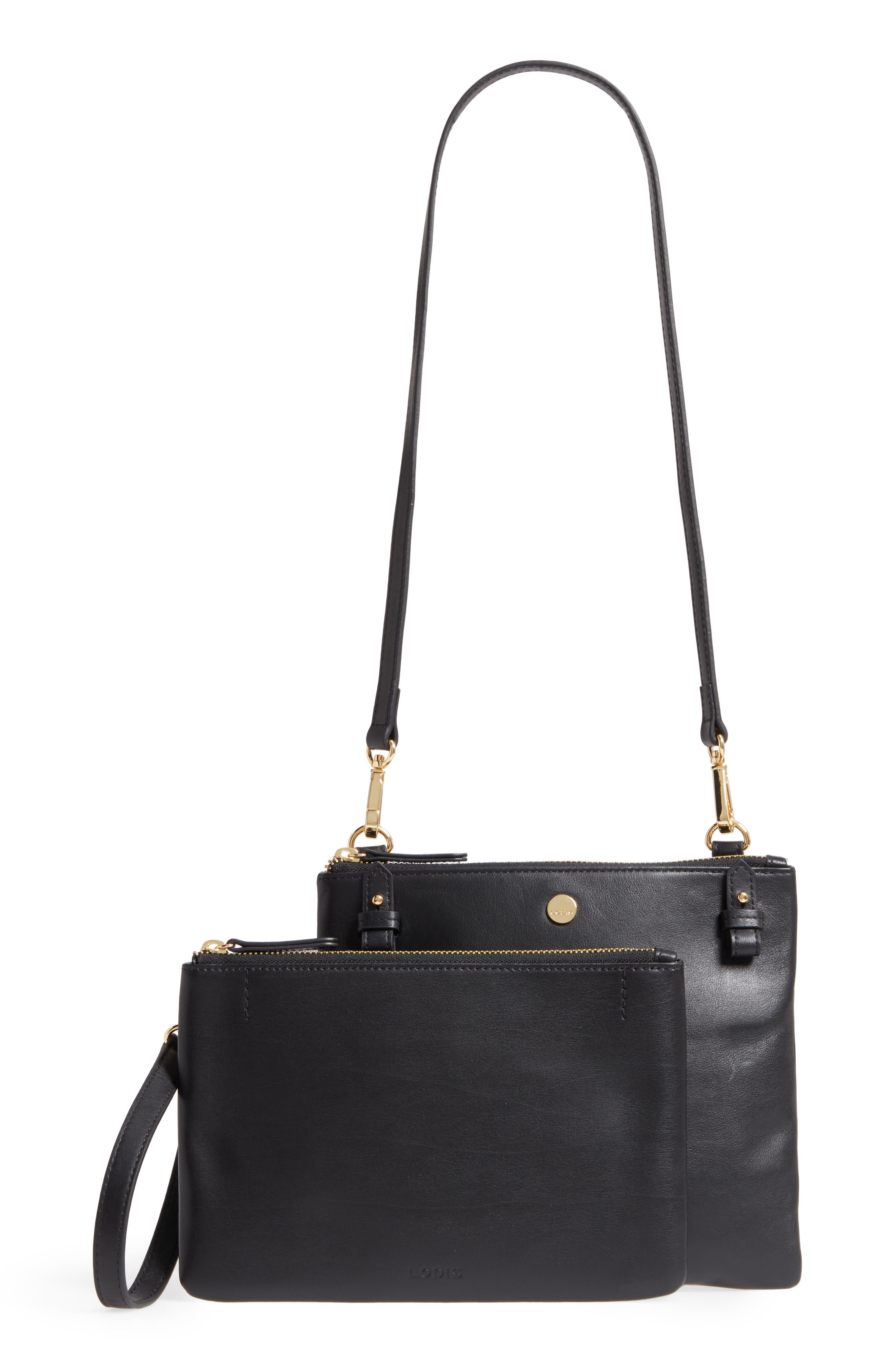 Downtown Latisha RFID Leather Crossbody,                             Alternate thumbnail 7, color,