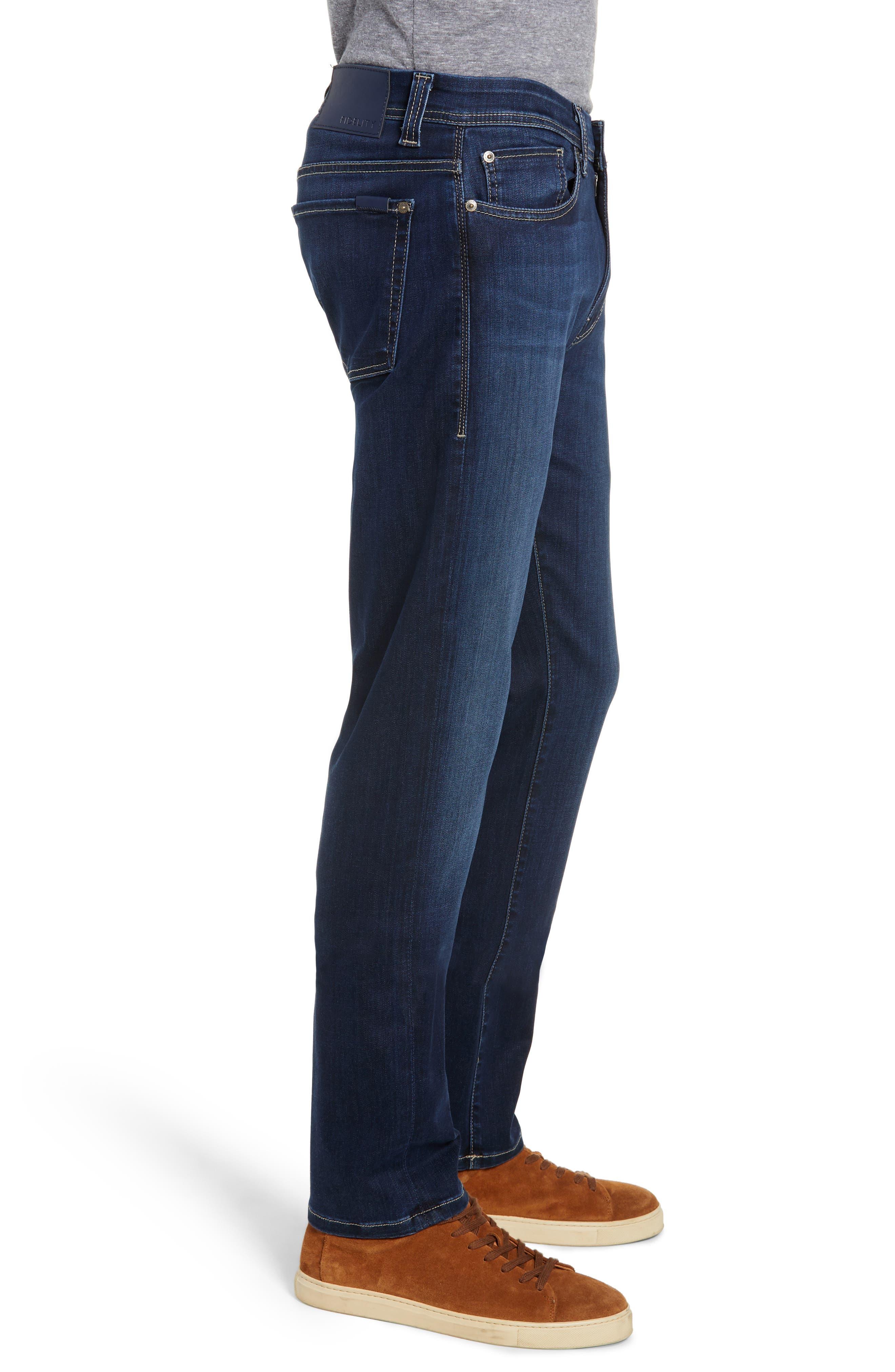 Jimmy Slim Straight Leg Jeans,                             Alternate thumbnail 3, color,                             STRIKER