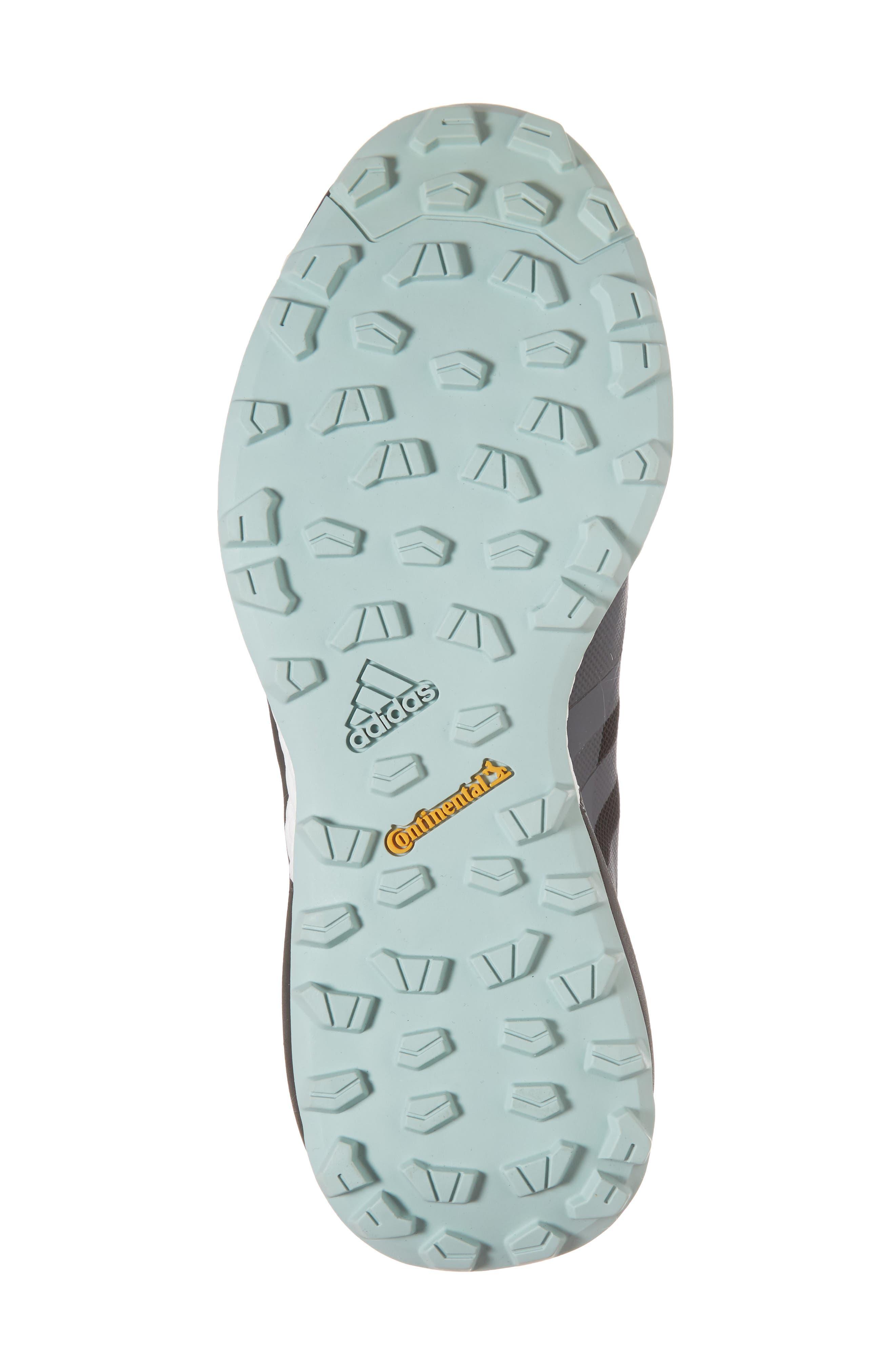 Terrex Agravic Trail Running Shoe,                             Alternate thumbnail 6, color,                             BLACK/ GREY THREE/ ASH GREEN