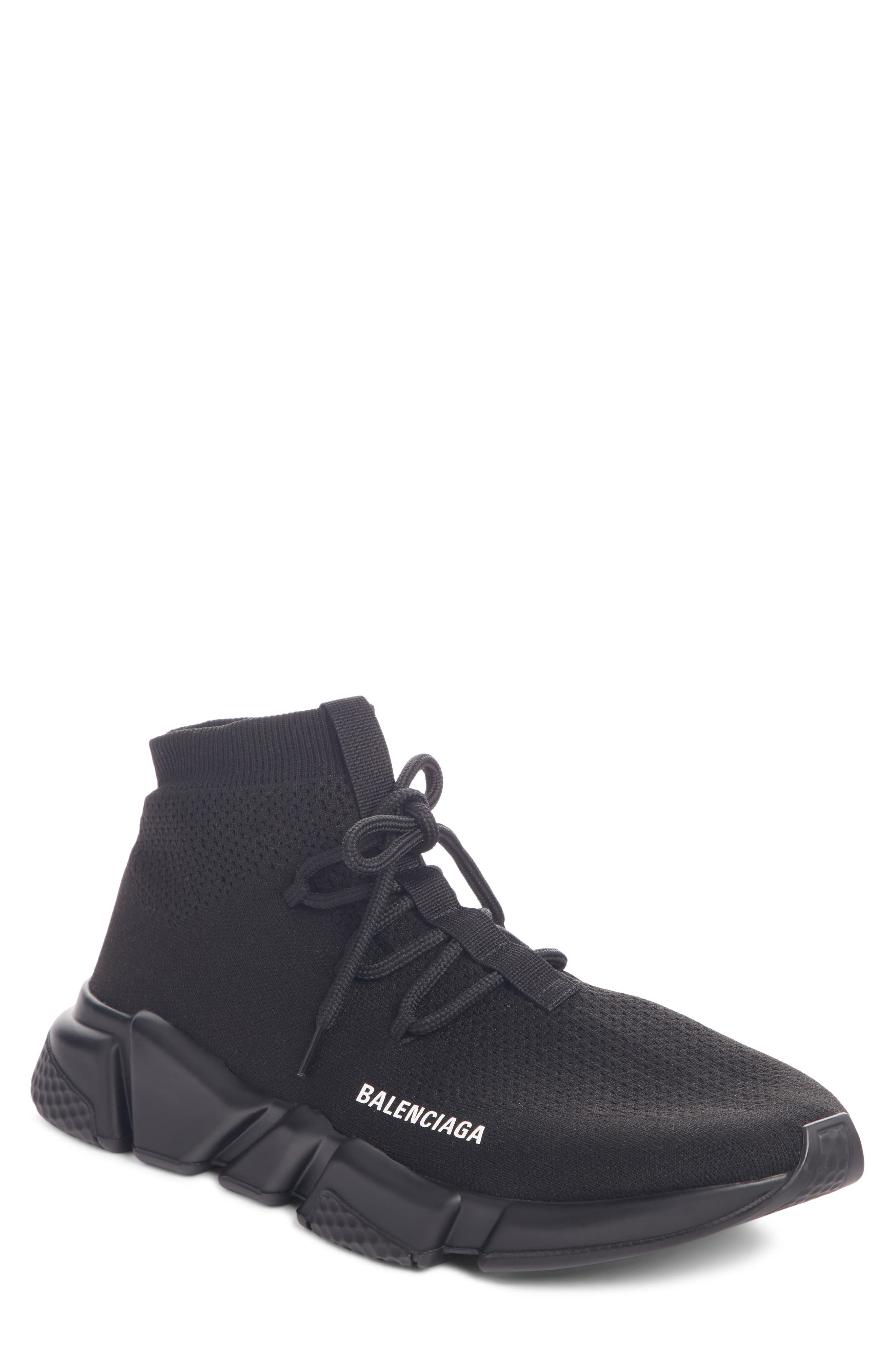 Speed Sneaker, Main, color, BLACK