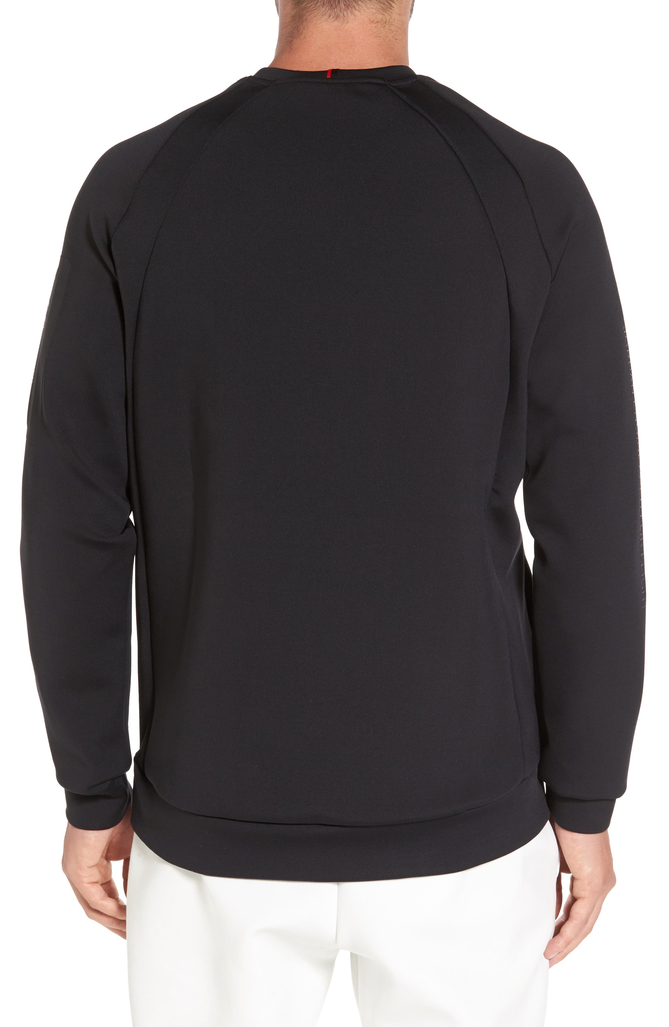 Sportswear Flight Tech Shield Crewneck,                             Alternate thumbnail 2, color,                             010