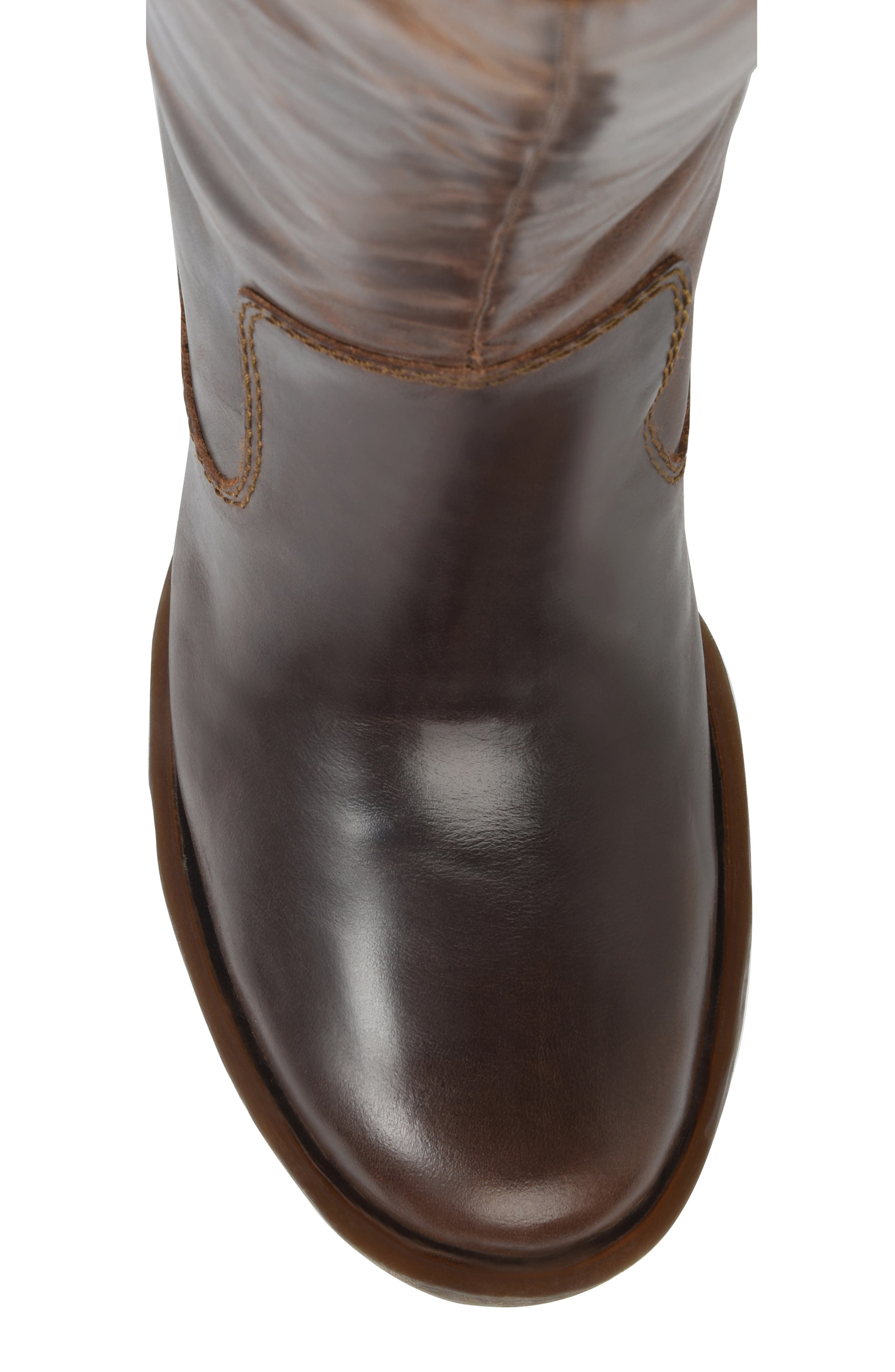 Knute Tall Boot,                             Alternate thumbnail 5, color,                             LIGHT BROWN LEATHER