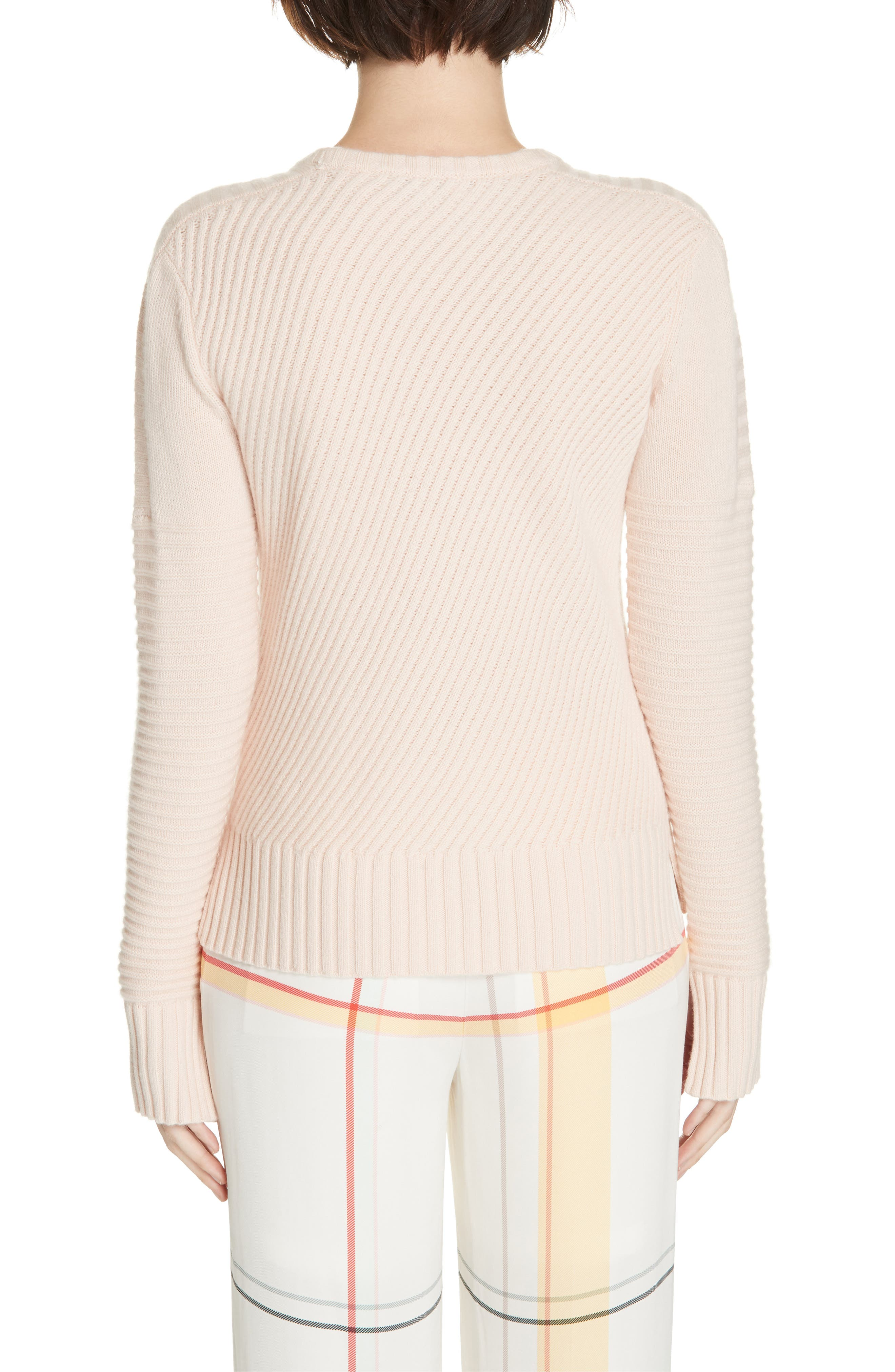 Abril Wool & Cashmere Sweater,                             Alternate thumbnail 2, color,                             ROSETTE