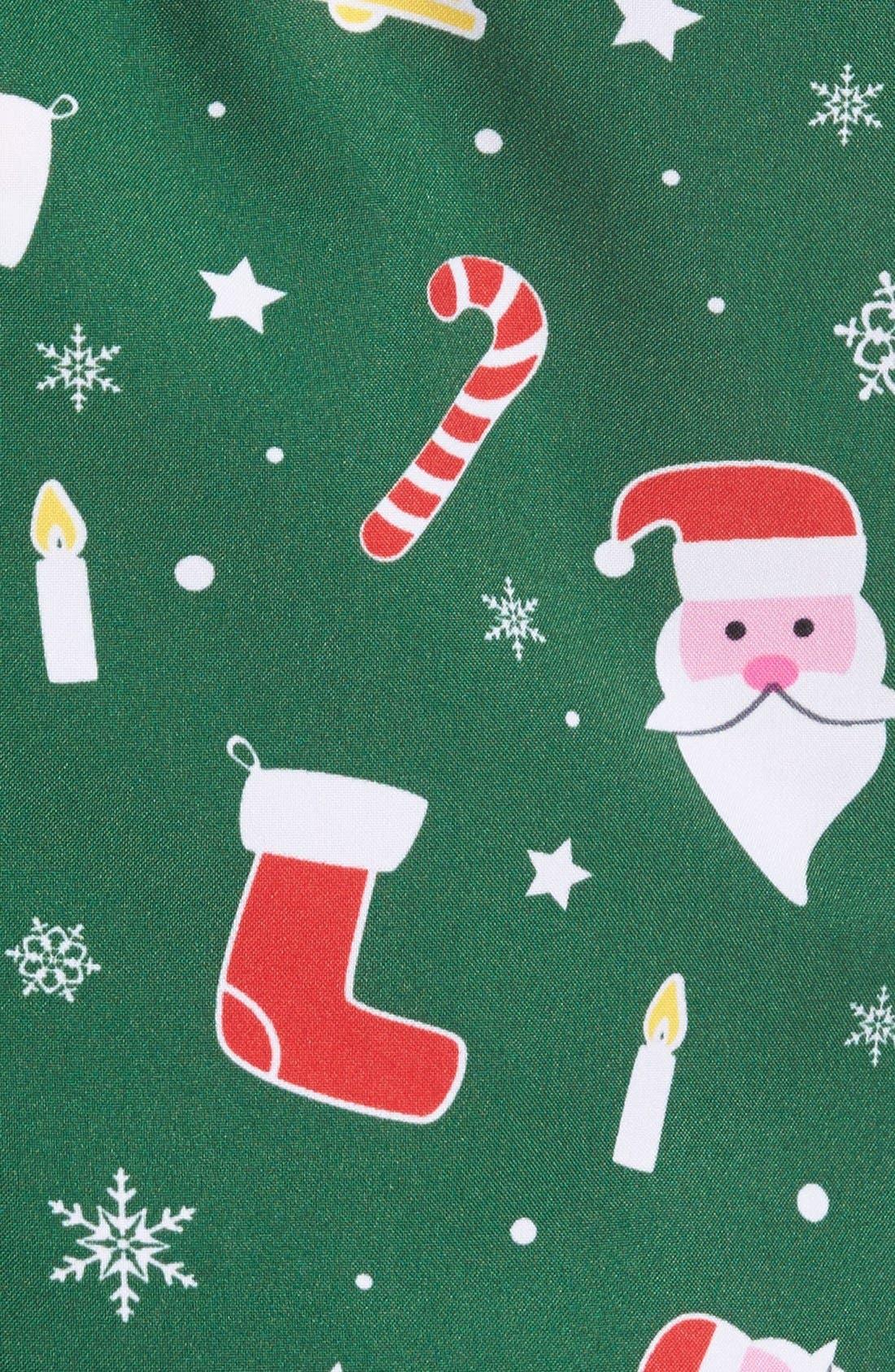 'Santaboss' Trim Fit Two-Piece Suit with Tie,                             Alternate thumbnail 3, color,                             301