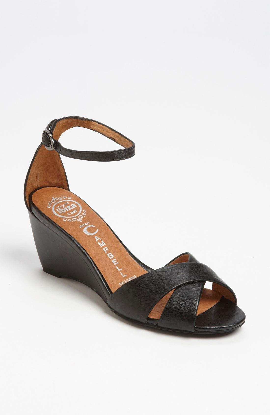 'Trudeau' Sandal,                         Main,                         color, 001