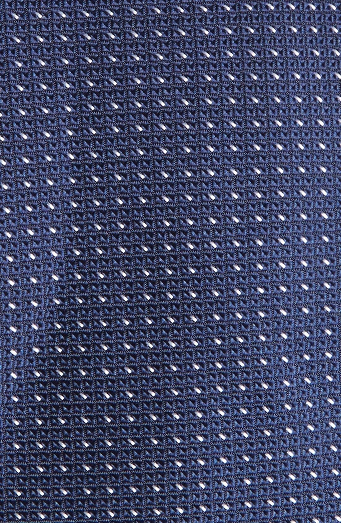 Dot Silk Tie,                             Alternate thumbnail 8, color,