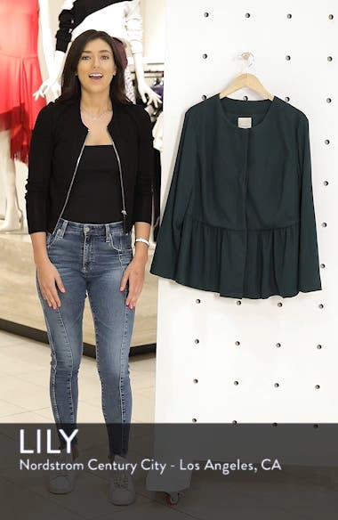 Peplum Jacket, sales video thumbnail