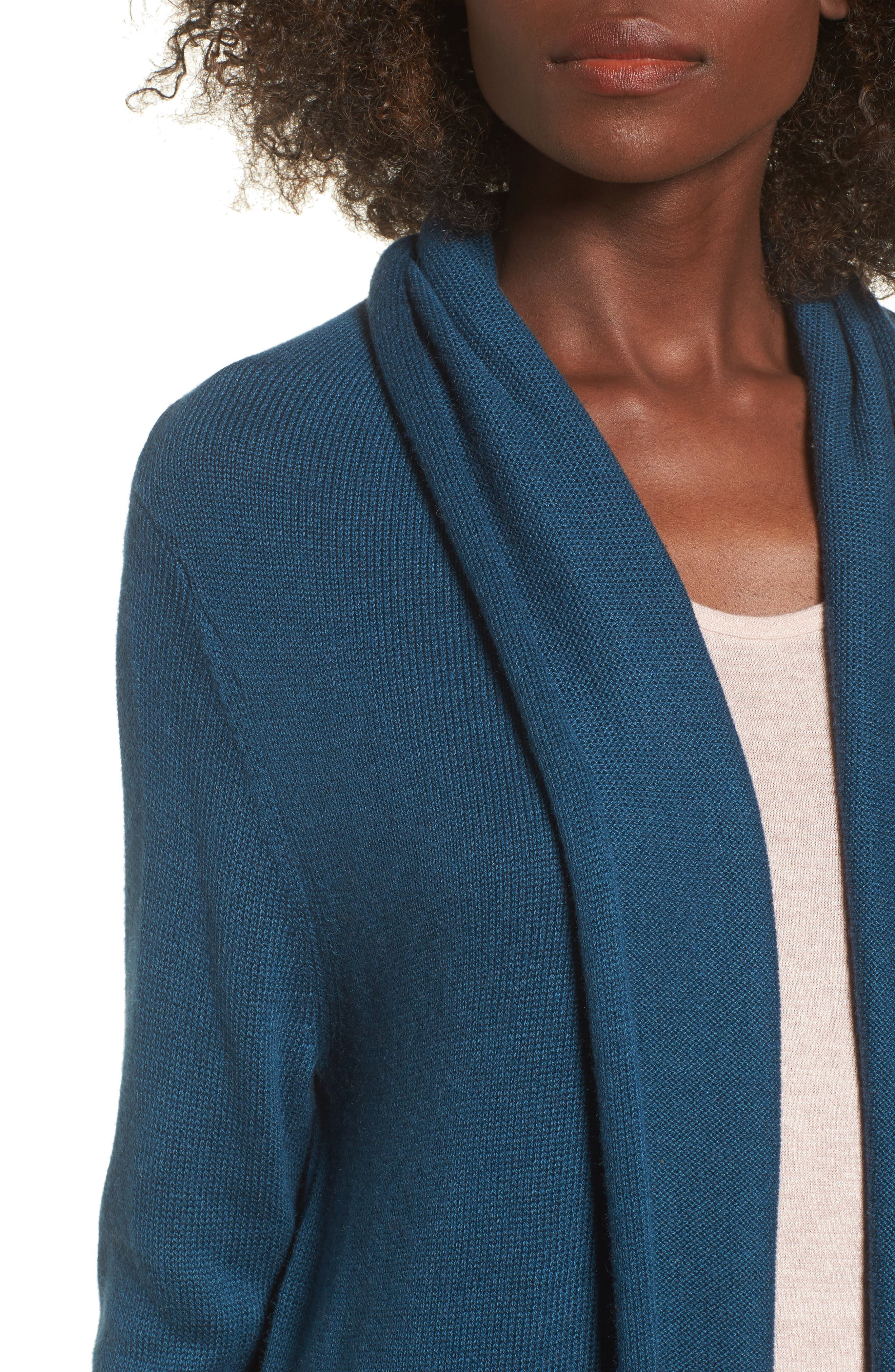 Easy Circle Cardigan,                             Alternate thumbnail 43, color,