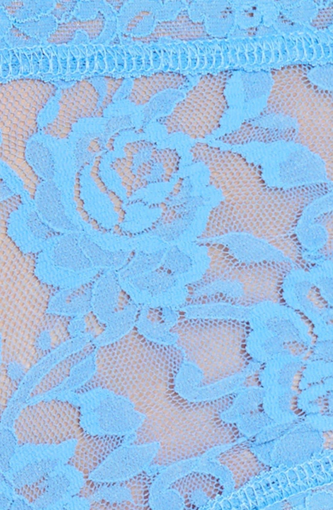 'Signature Lace' Boyshorts,                             Alternate thumbnail 400, color,