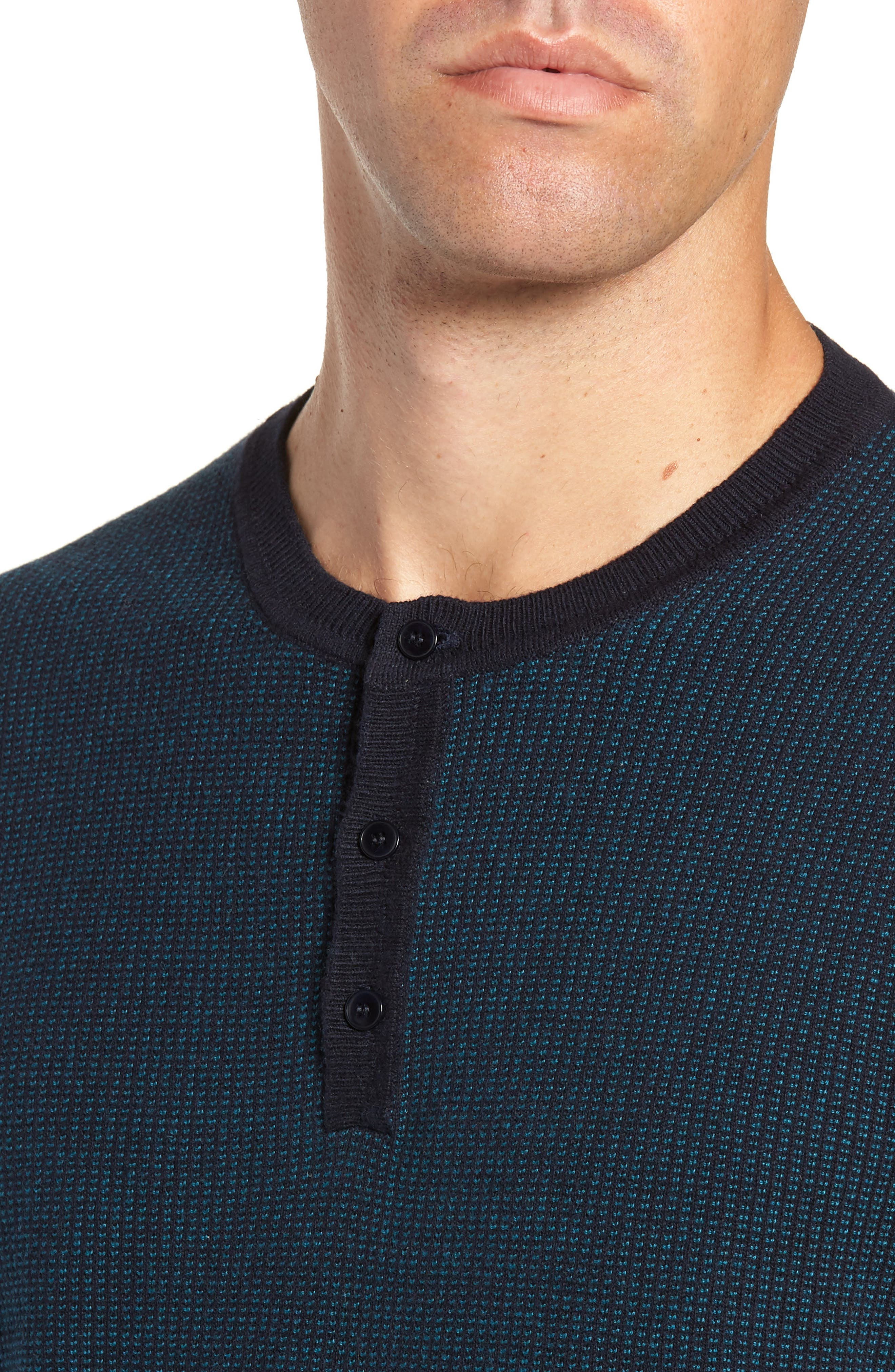 Kimball Henley Sweater,                             Alternate thumbnail 4, color,                             EMERALD