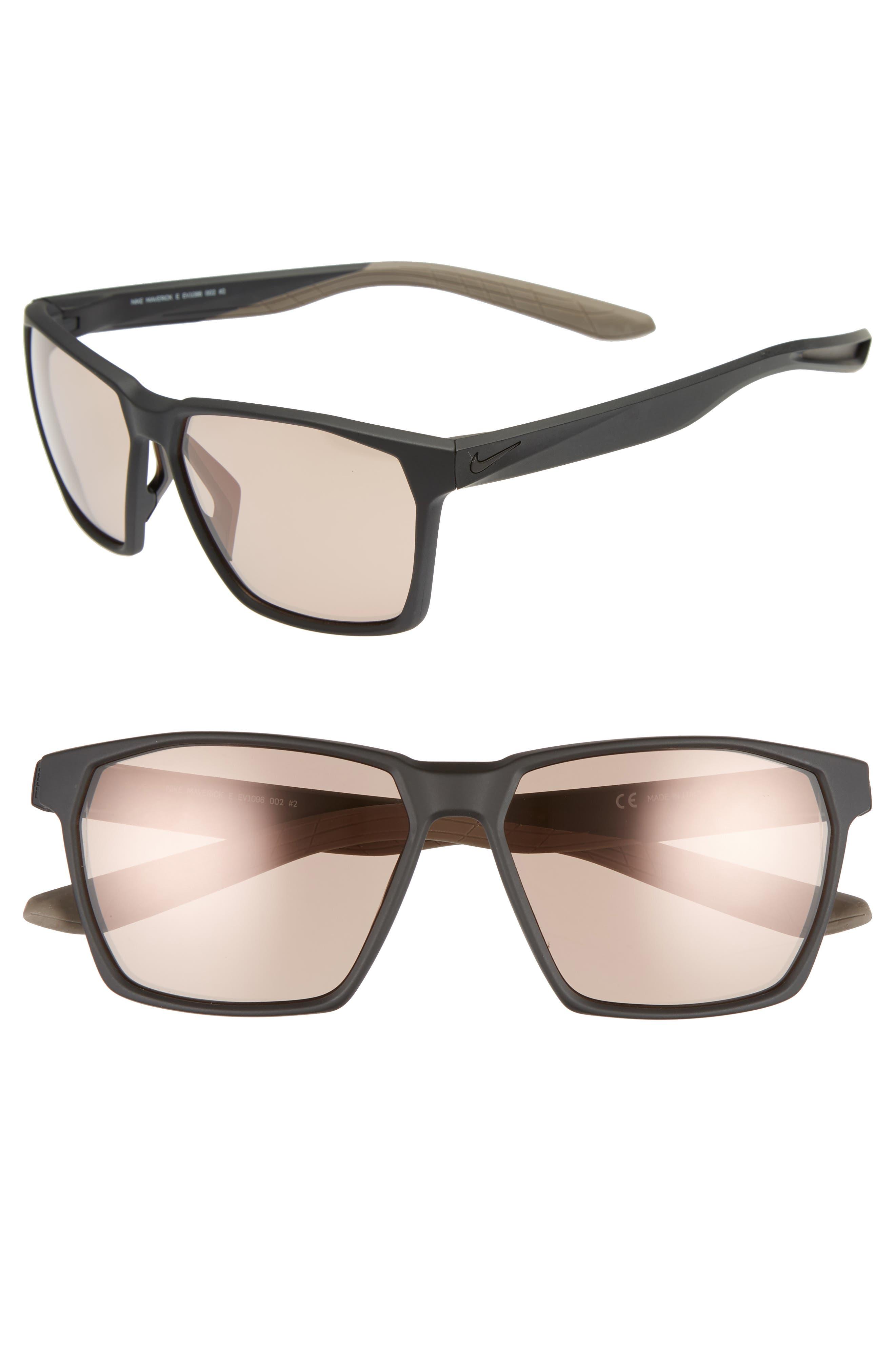 Nike Maverick 5m Sunglasses - Matte Black Electric