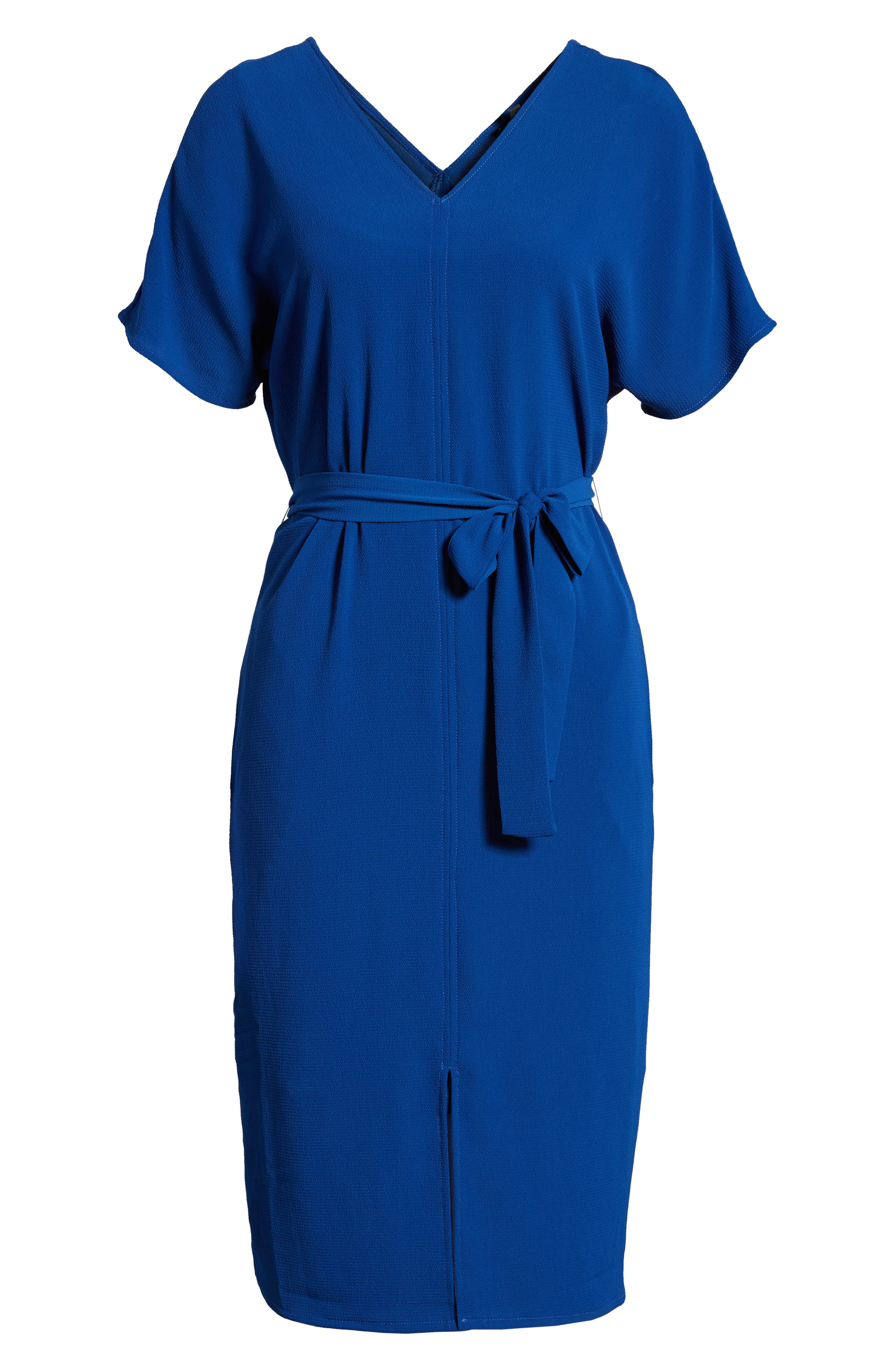 Stretch Crepe Dress,                             Alternate thumbnail 29, color,