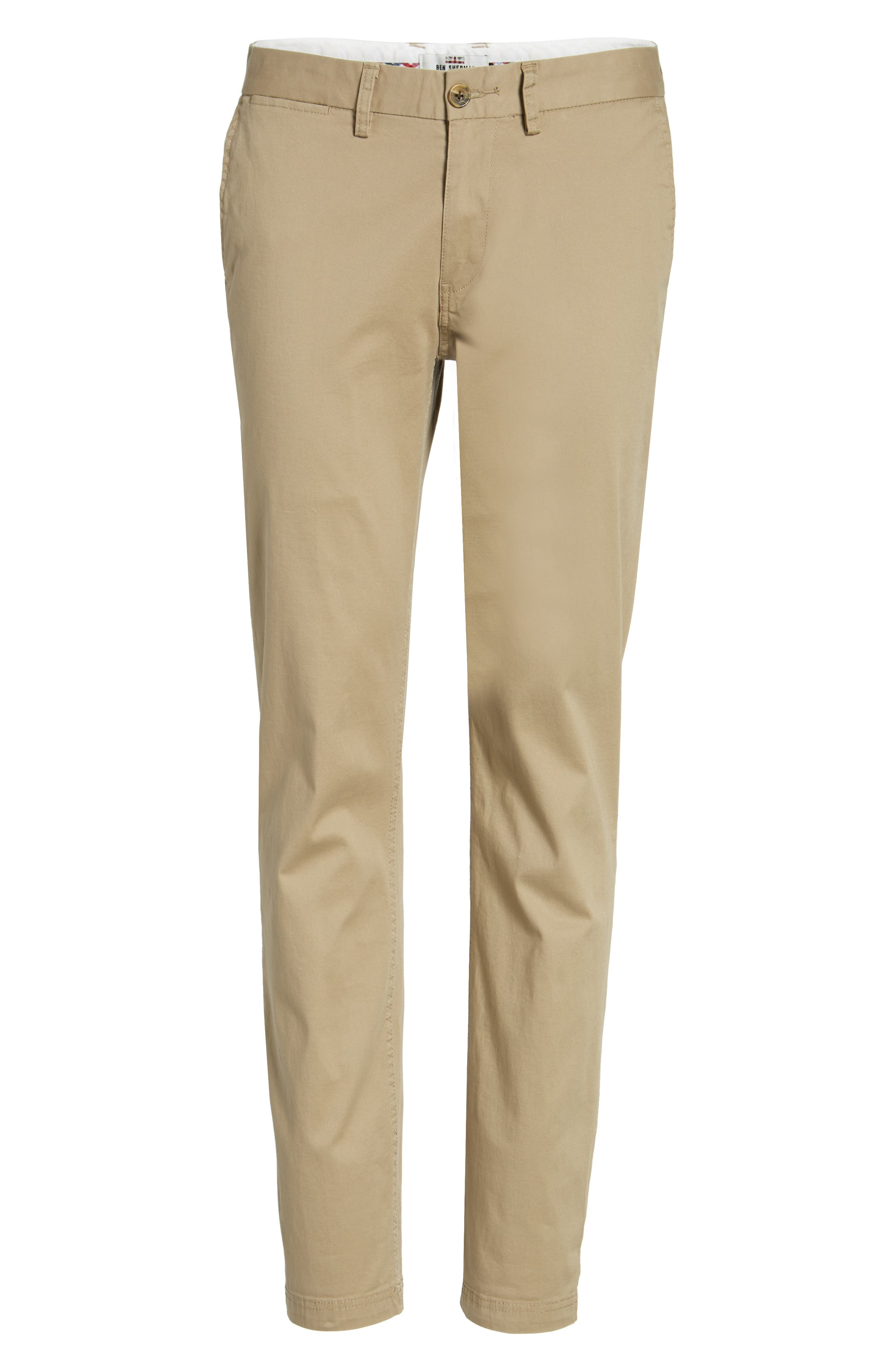 Slim Fit Stretch Chinos,                             Alternate thumbnail 66, color,