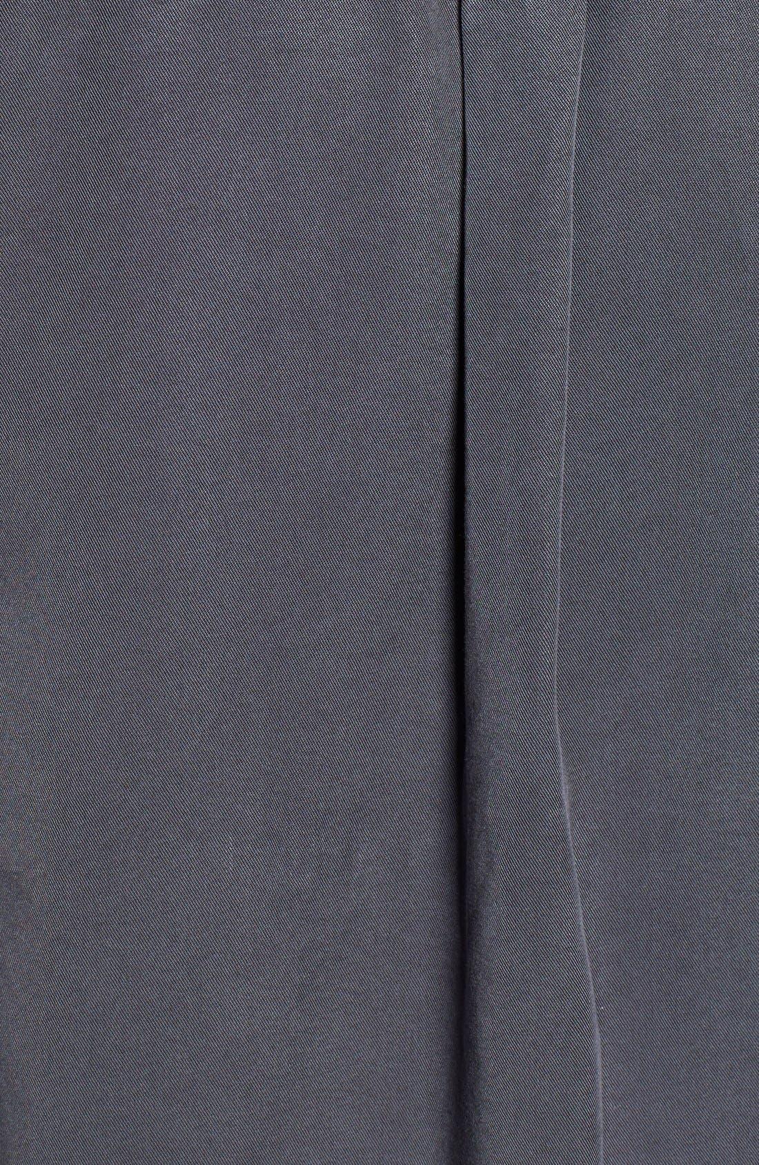 CASLON<SUP>®</SUP>,                             Long Sleeve Denim Shirt,                             Alternate thumbnail 5, color,                             030