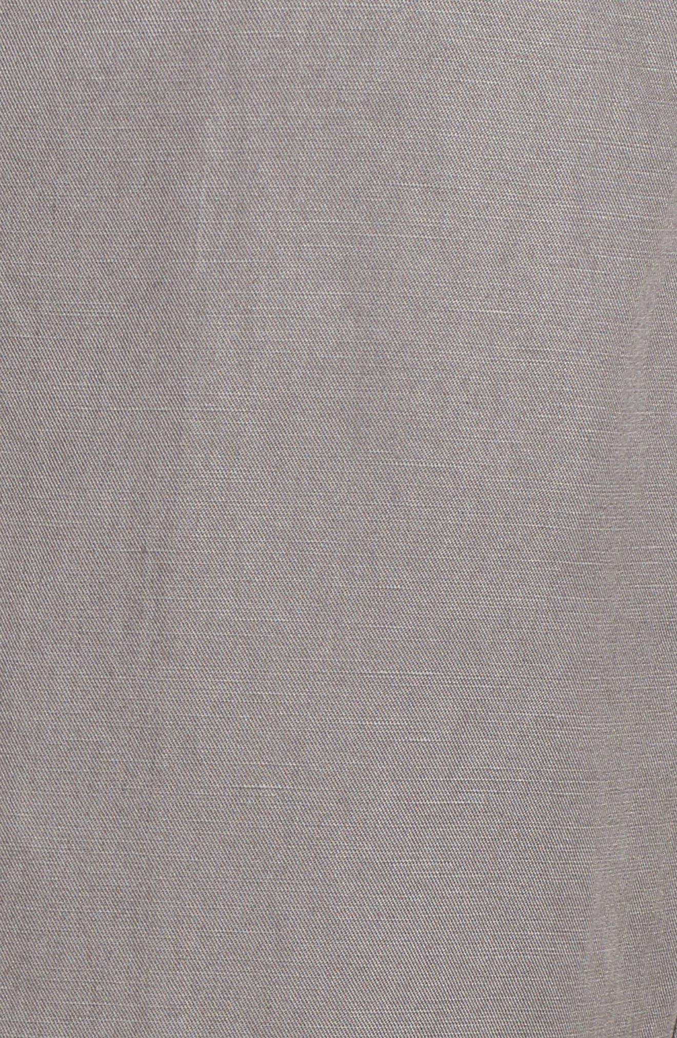 Tencel<sup>®</sup> Lyocell & Linen Walking Shorts,                             Alternate thumbnail 14, color,