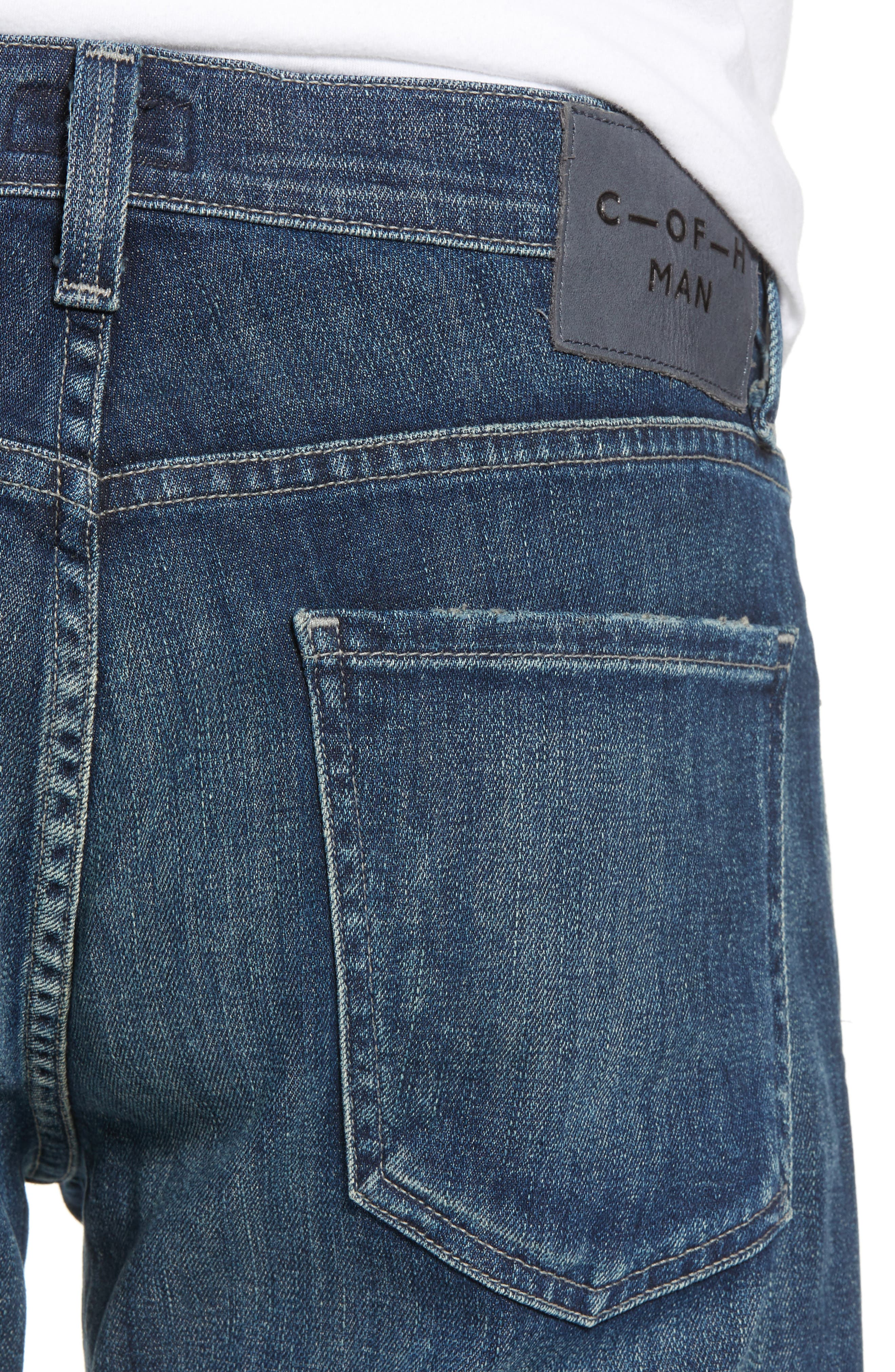 Core Slim Fit Jeans,                             Alternate thumbnail 4, color,                             ARENA