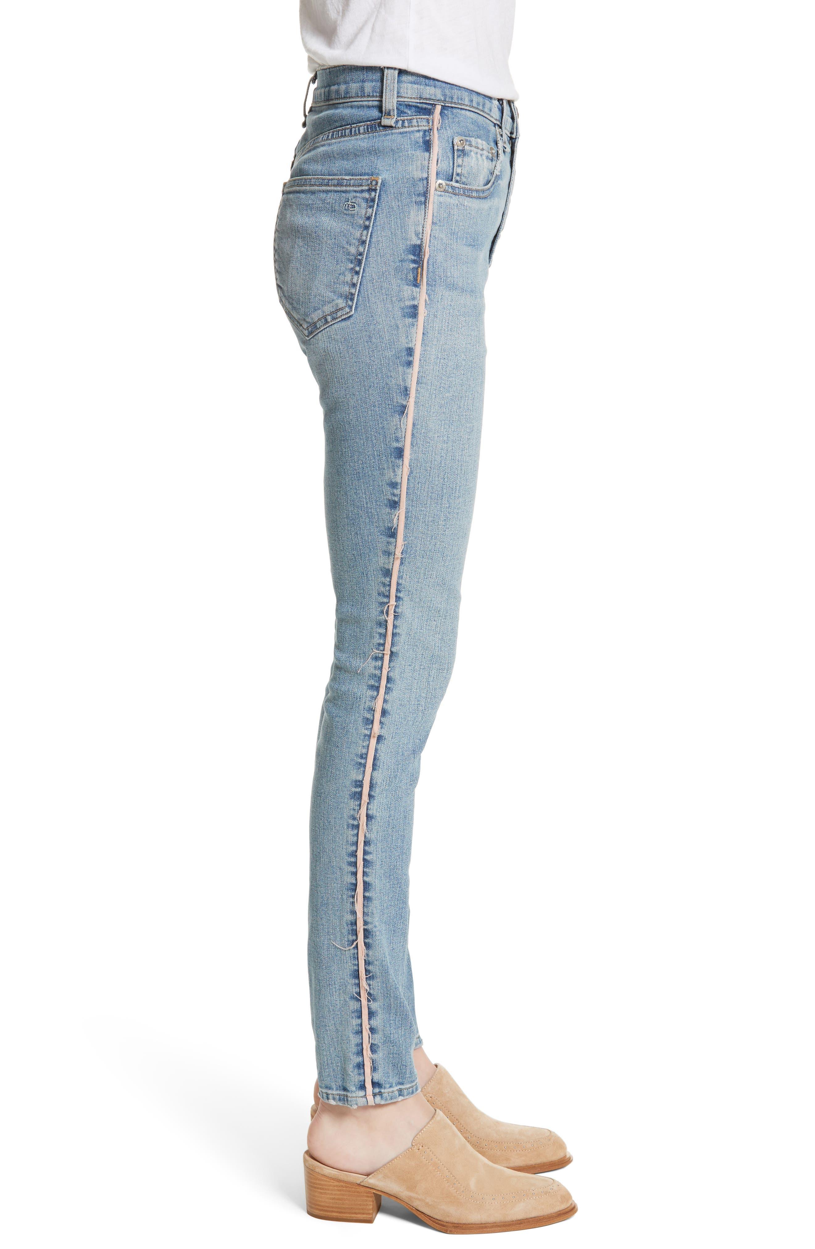 RAG & BONE,                             JEAN Skinny Jeans,                             Alternate thumbnail 3, color,                             422