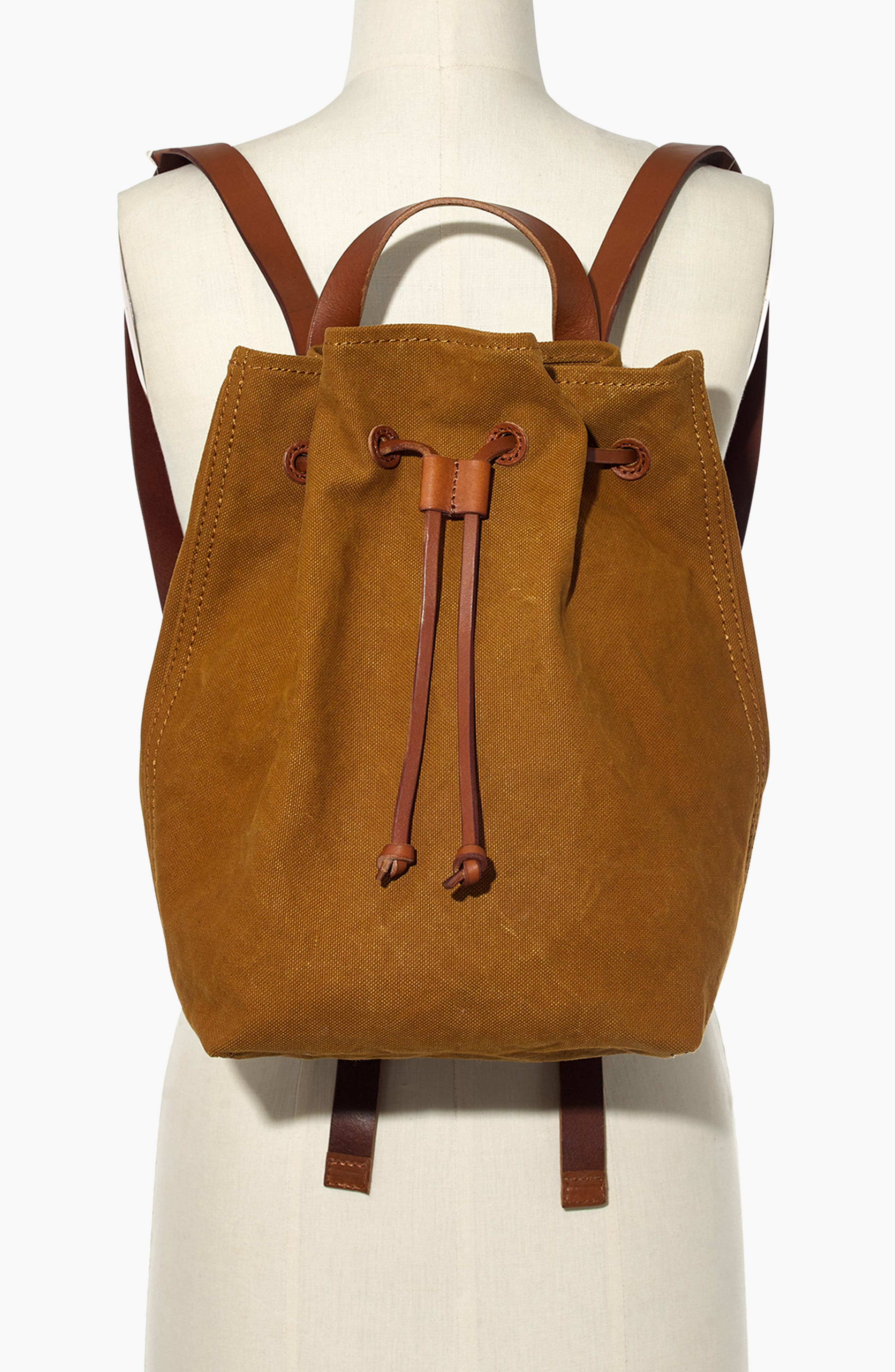 Somerset Canvas Backpack,                             Alternate thumbnail 2, color,                             ACORN