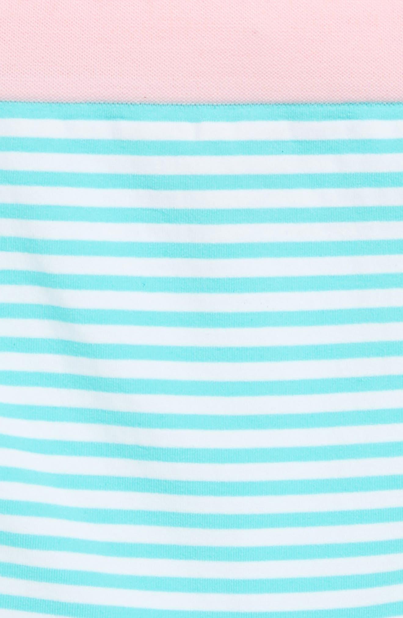 Stripe Boyshorts,                             Alternate thumbnail 2, color,                             TEAL SPLASH STRIPE
