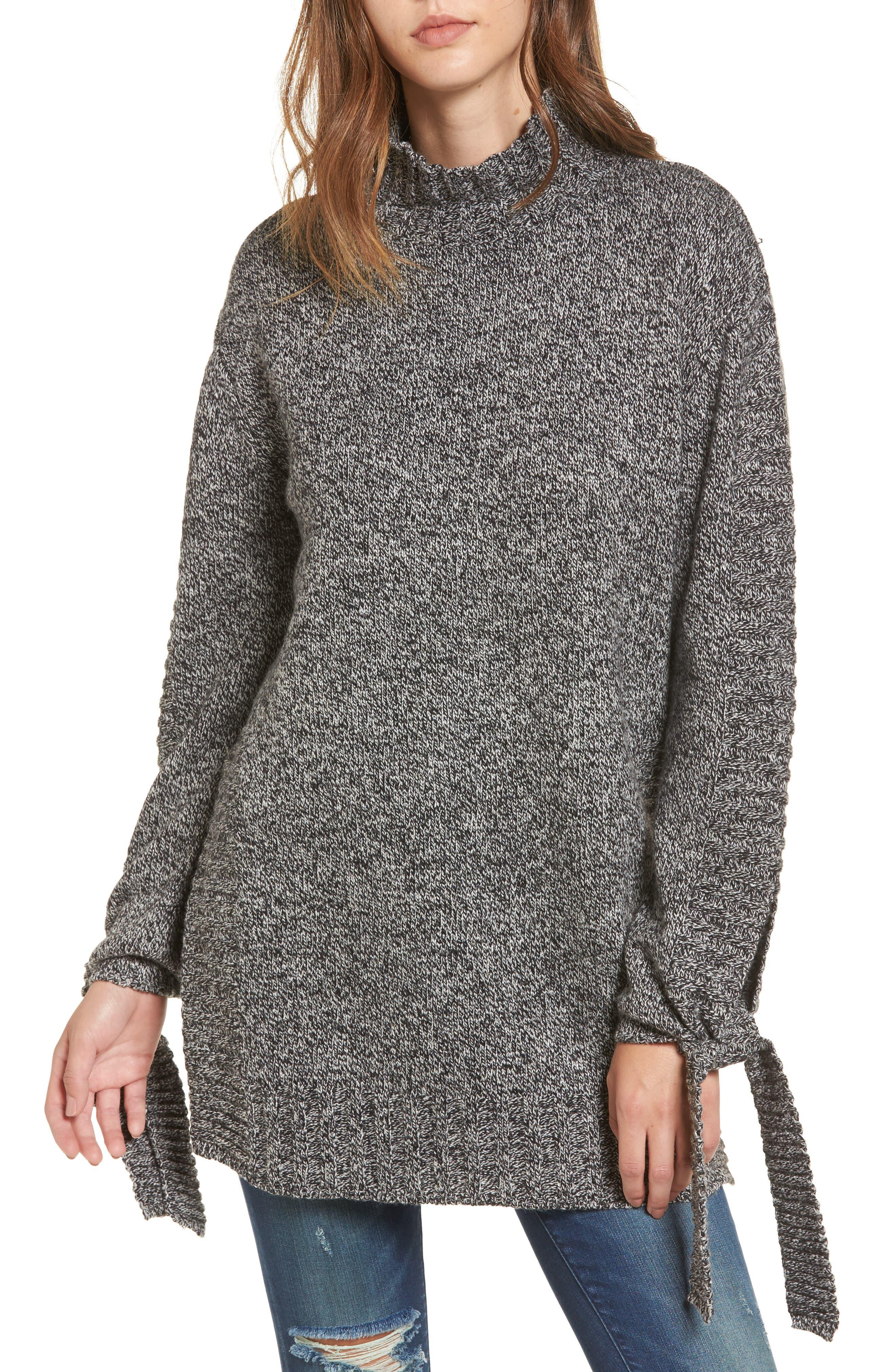 Side Slit Sweater,                         Main,                         color, 020