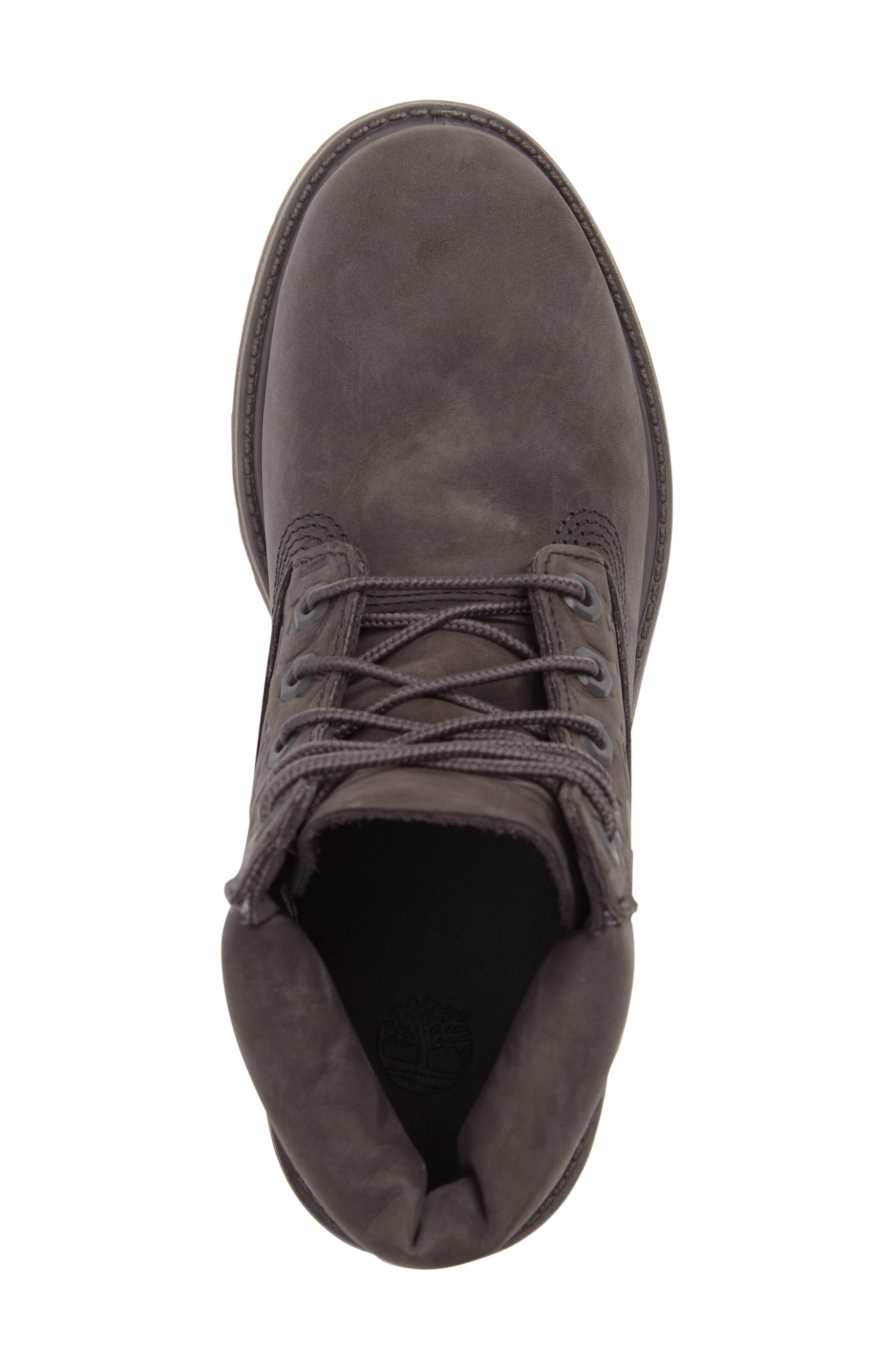 6-Inch Premium Embossed Waterproof Boot,                             Alternate thumbnail 5, color,                             021