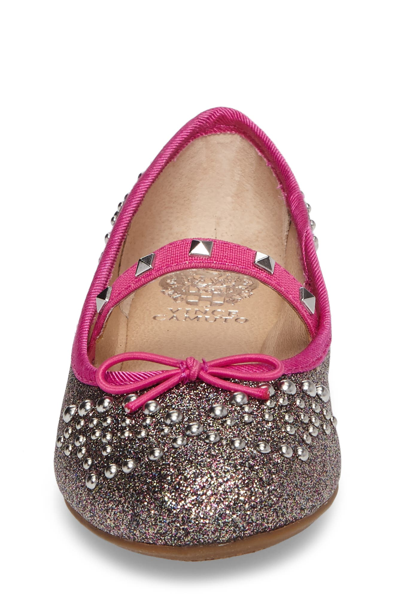 Pietra Embellished Mary Jane Flat,                             Alternate thumbnail 4, color,                             650