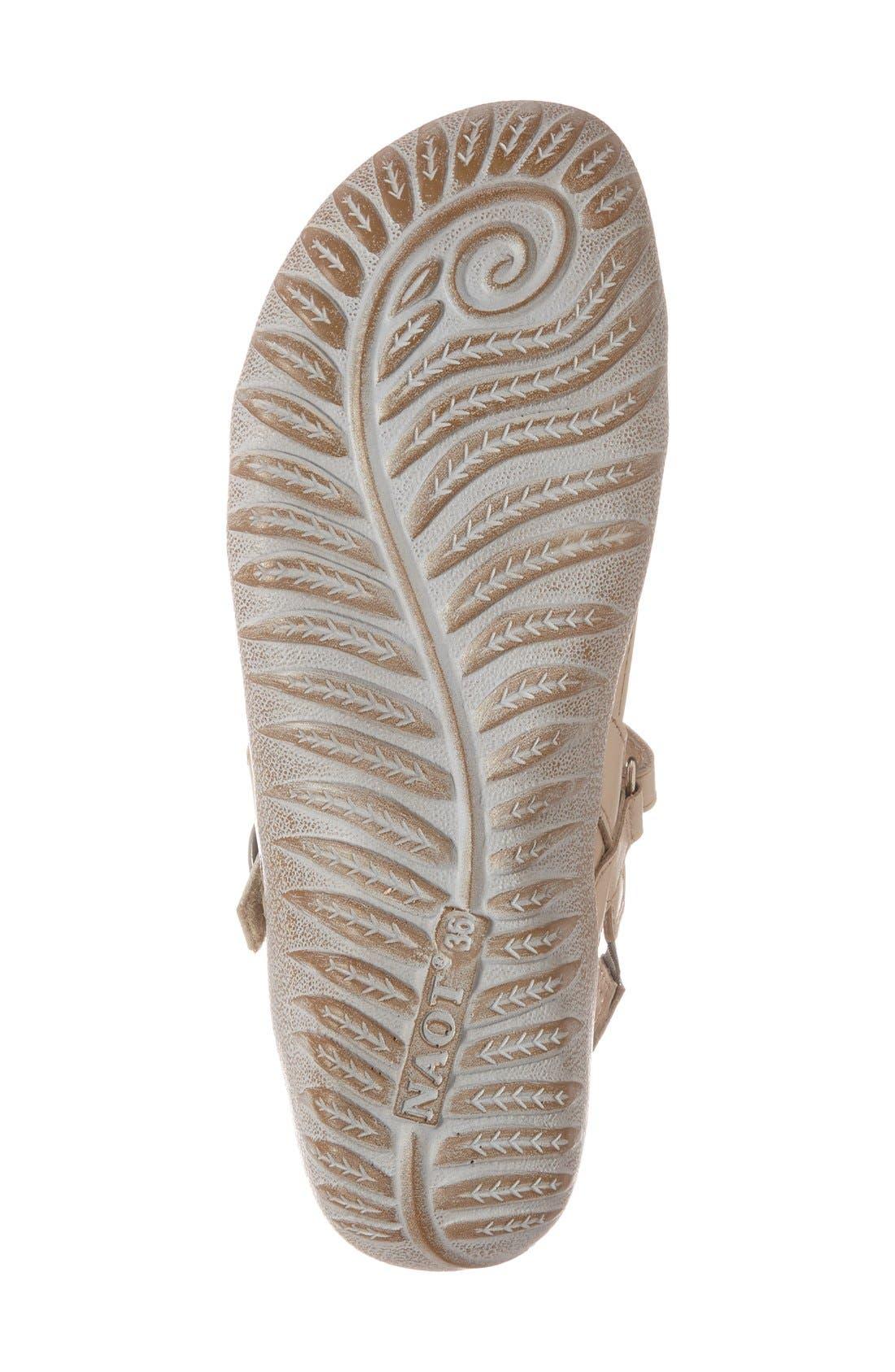 'Mozota' Quarter Strap Sandal,                             Alternate thumbnail 4, color,                             250