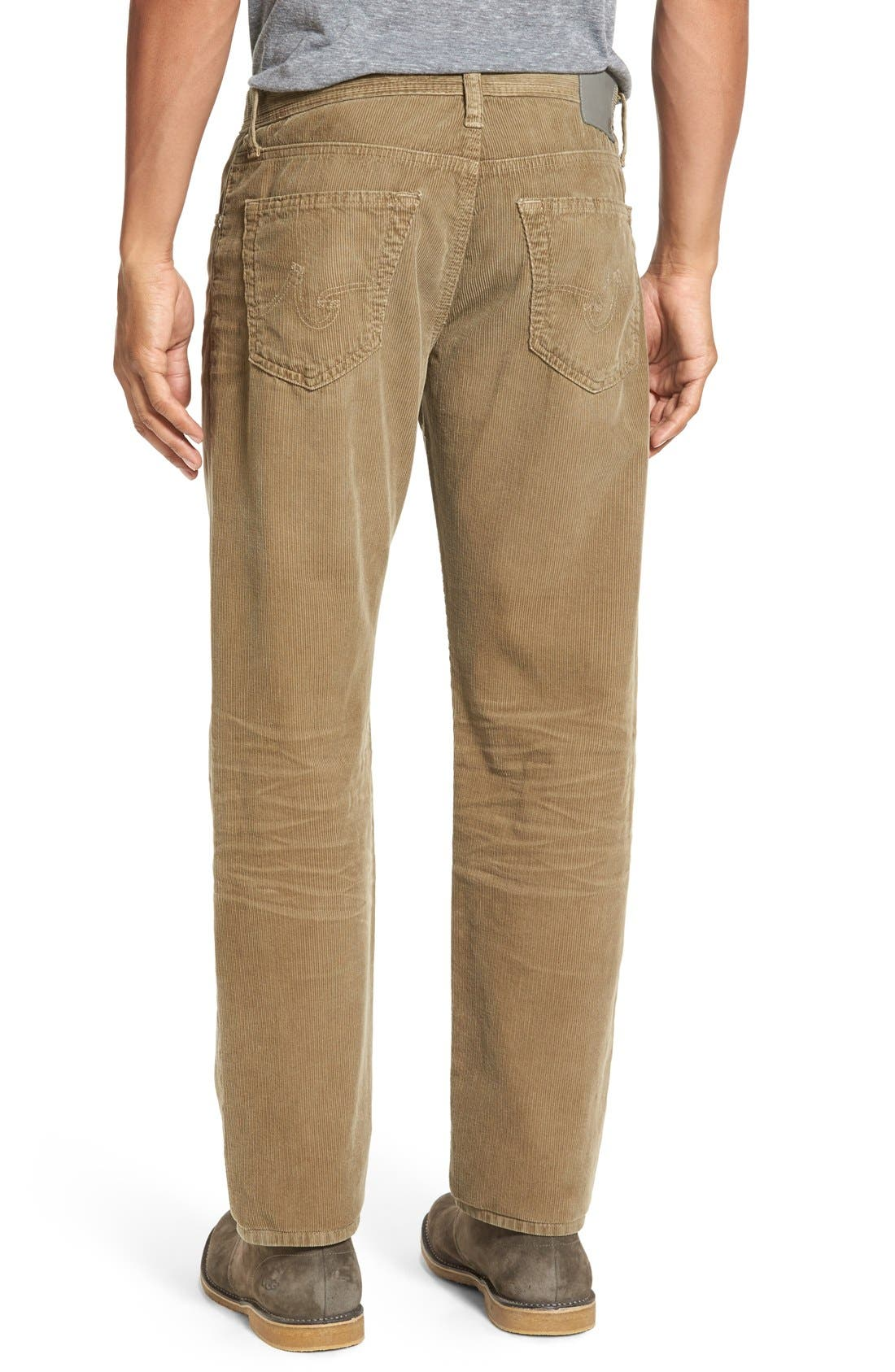 'Graduate' Tailored Straight Leg Corduroy Pants,                             Alternate thumbnail 25, color,