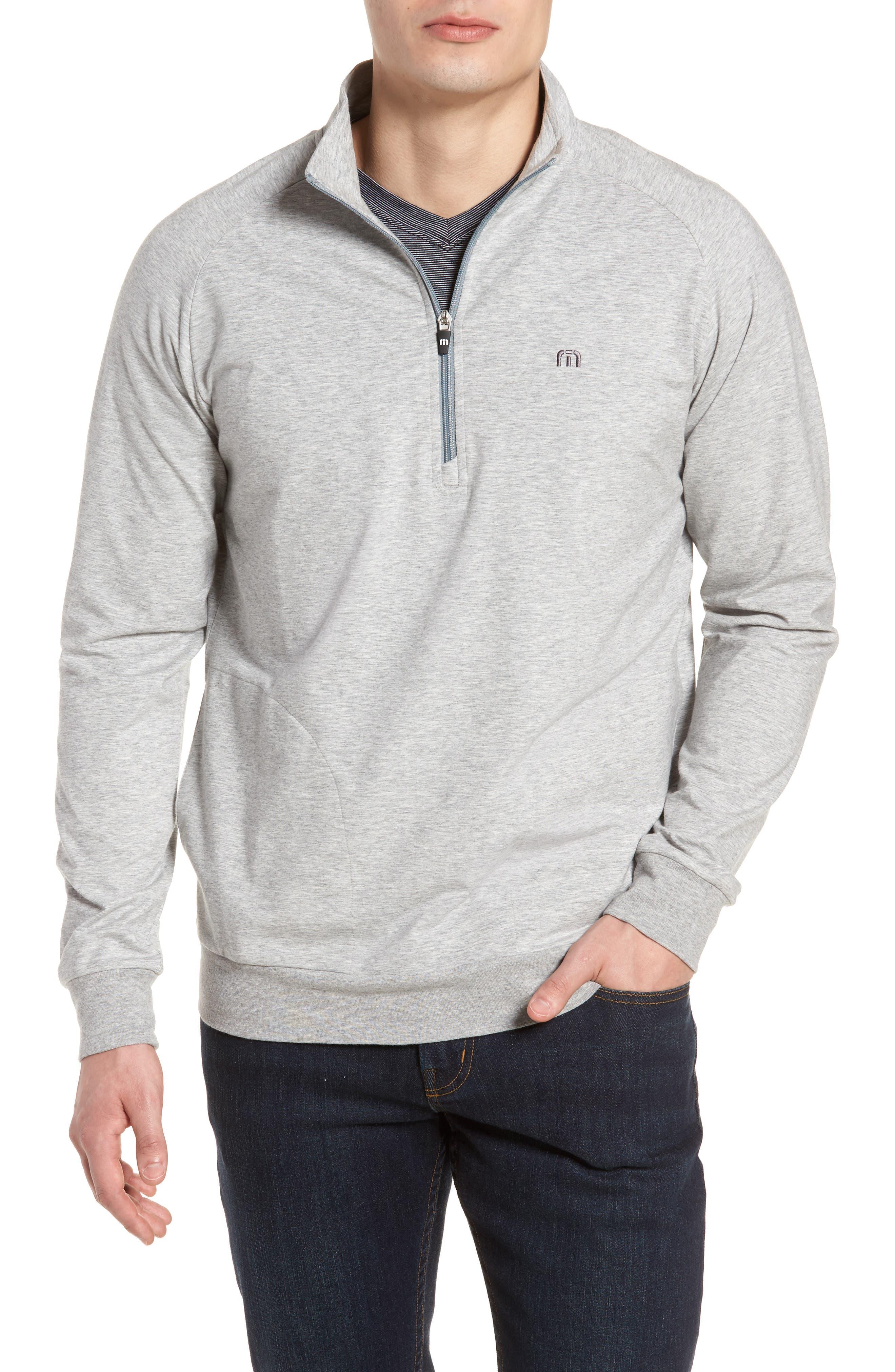 'Strange Love' Trim Fit Wrinkle Resistant Quarter Zip Jacket,                         Main,                         color, 020