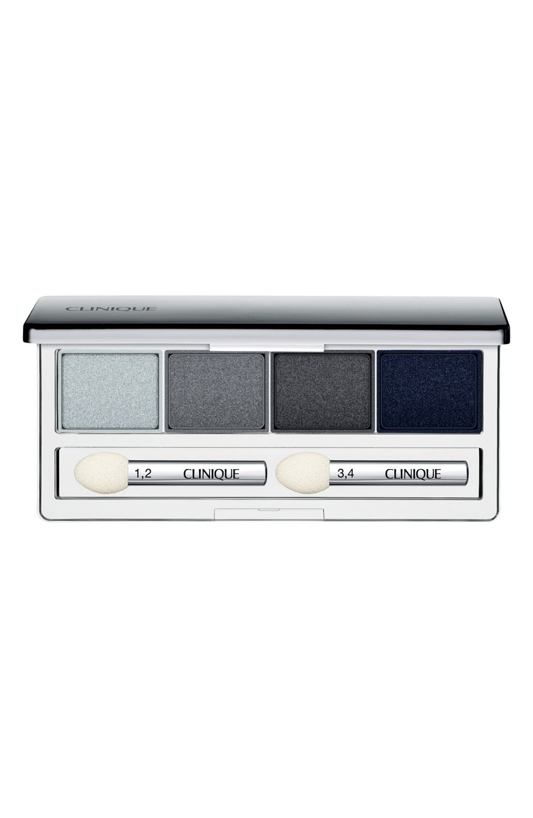 All About Shadow Eyeshadow Quad,                             Main thumbnail 1, color,                             SMOKE AND MIRRORS