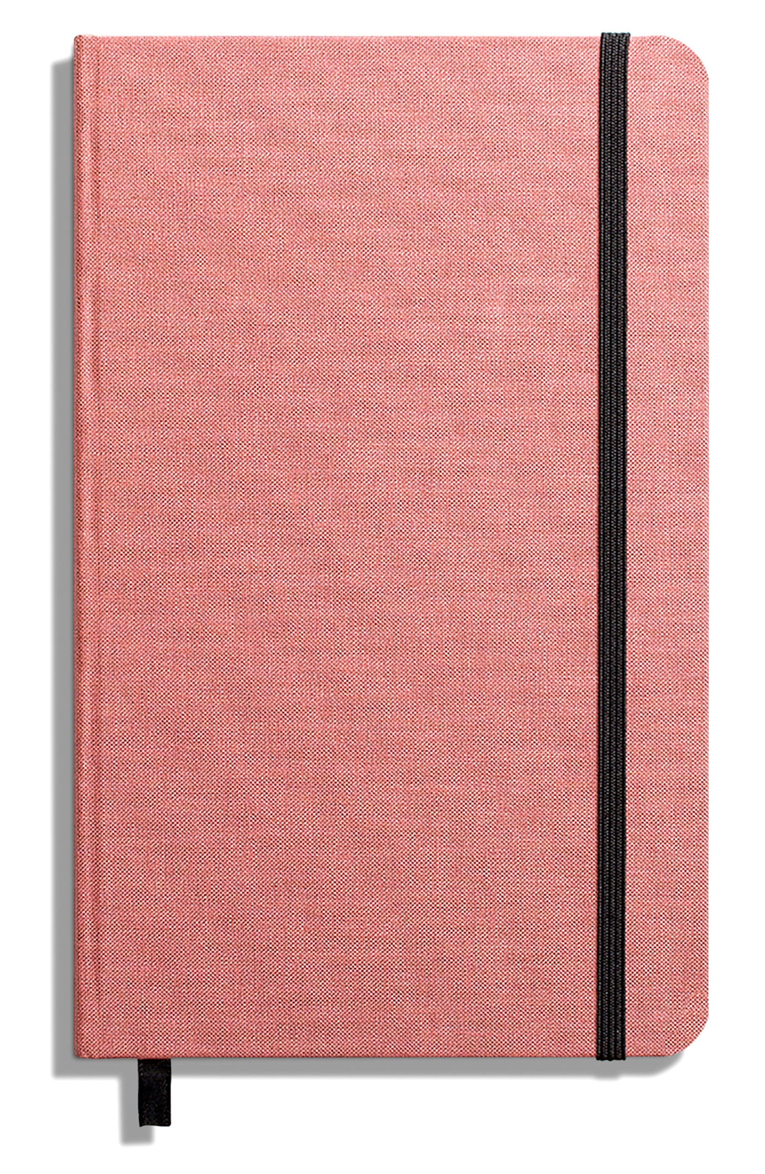 Hardcover Linen Journal,                             Main thumbnail 1, color,                             PINK