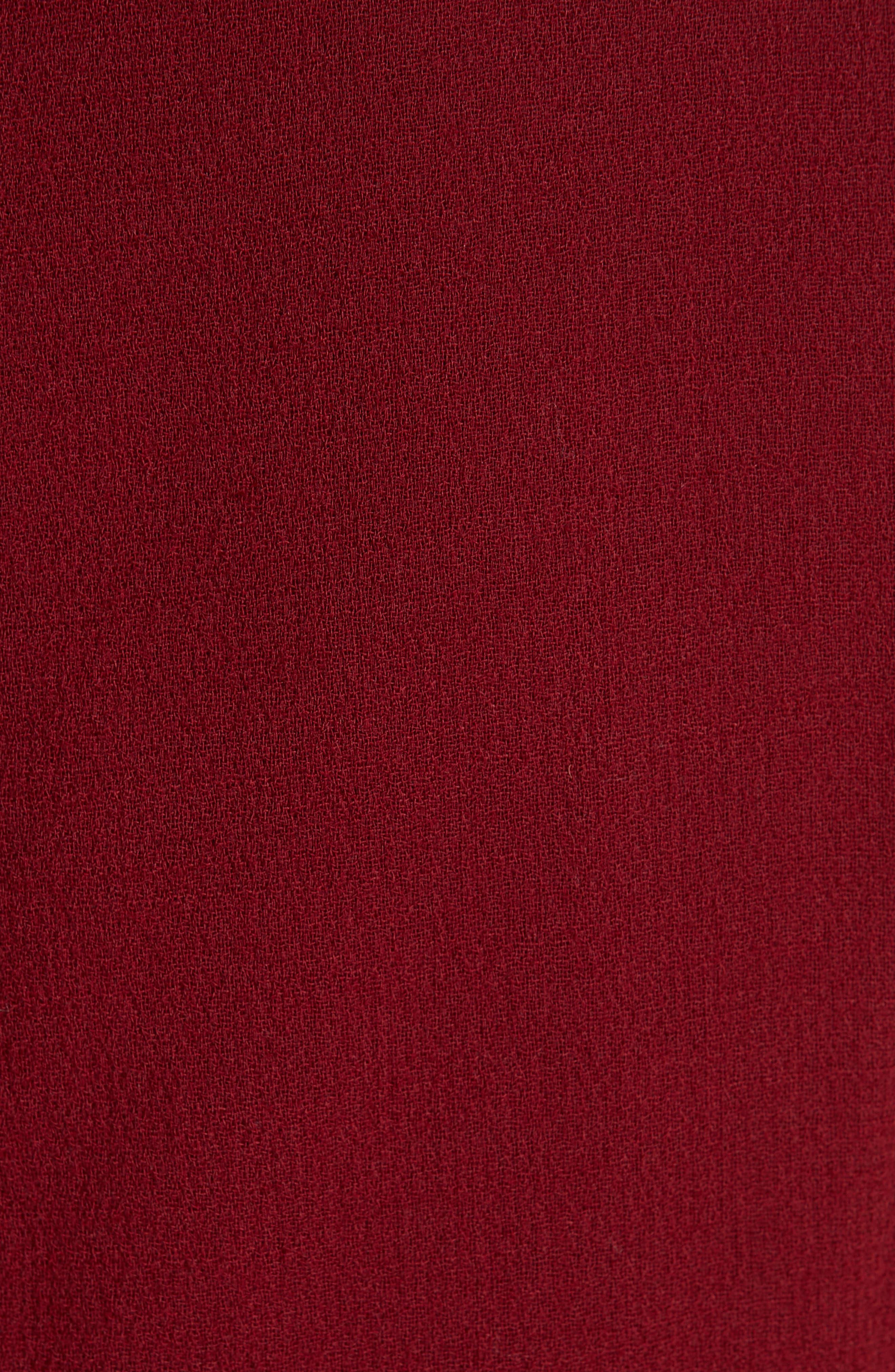 Paxton Sheath Dress,                             Alternate thumbnail 6, color,                             SCARLET