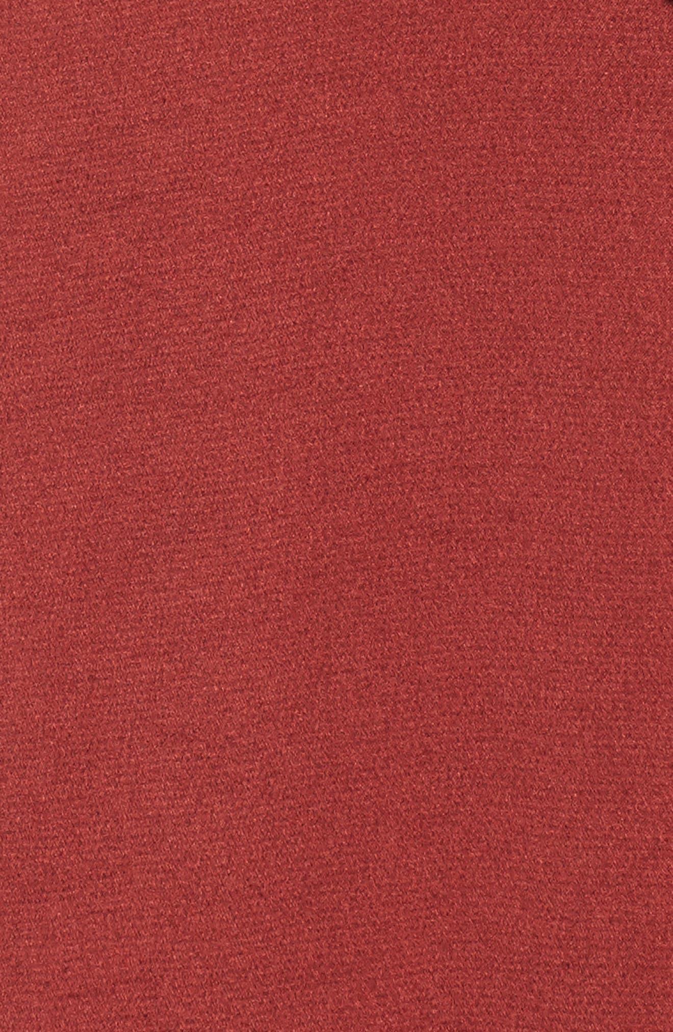 Mesh Panel Midi Dress,                             Alternate thumbnail 10, color,