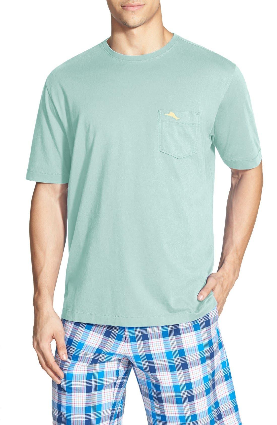 New Bali Sky Pima Cotton Pocket T-Shirt,                             Main thumbnail 23, color,