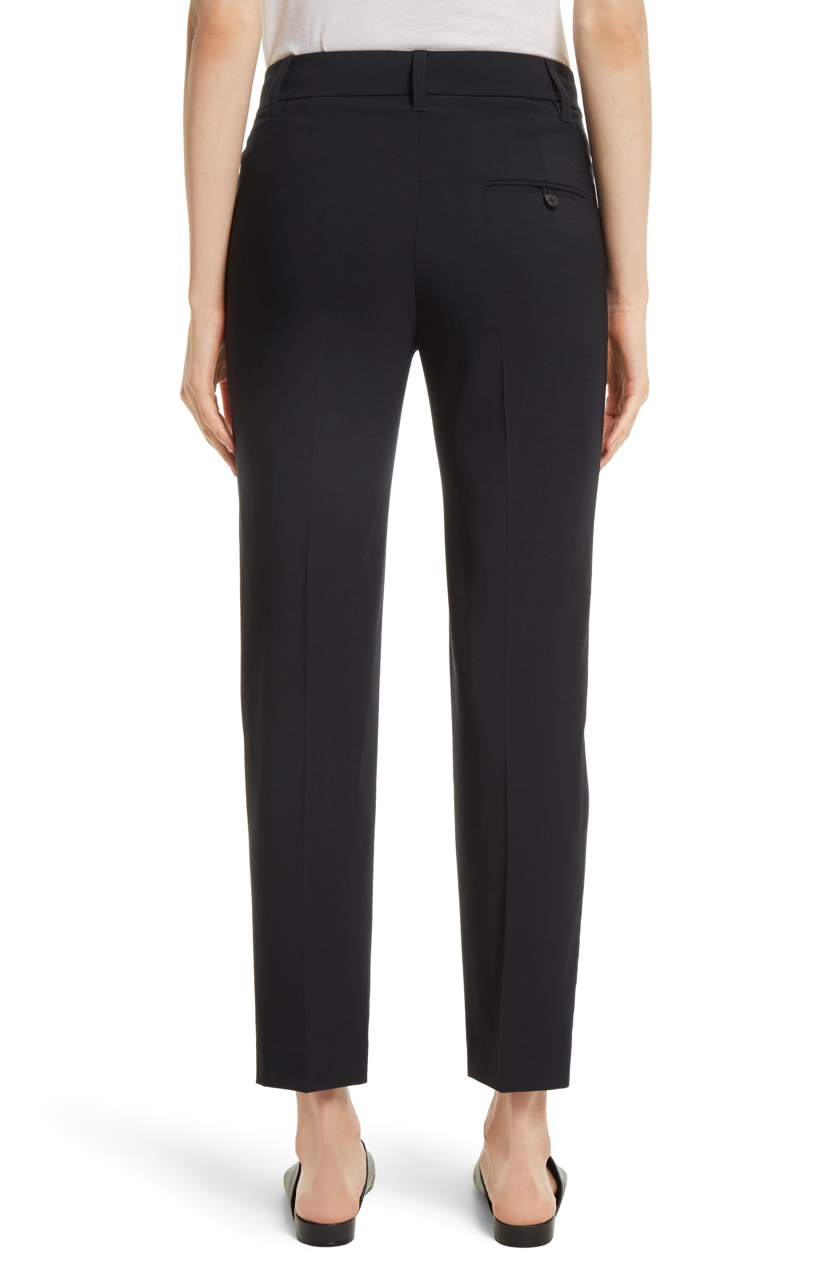 Tapered Ankle Trousers,                             Alternate thumbnail 2, color,                             COASTAL