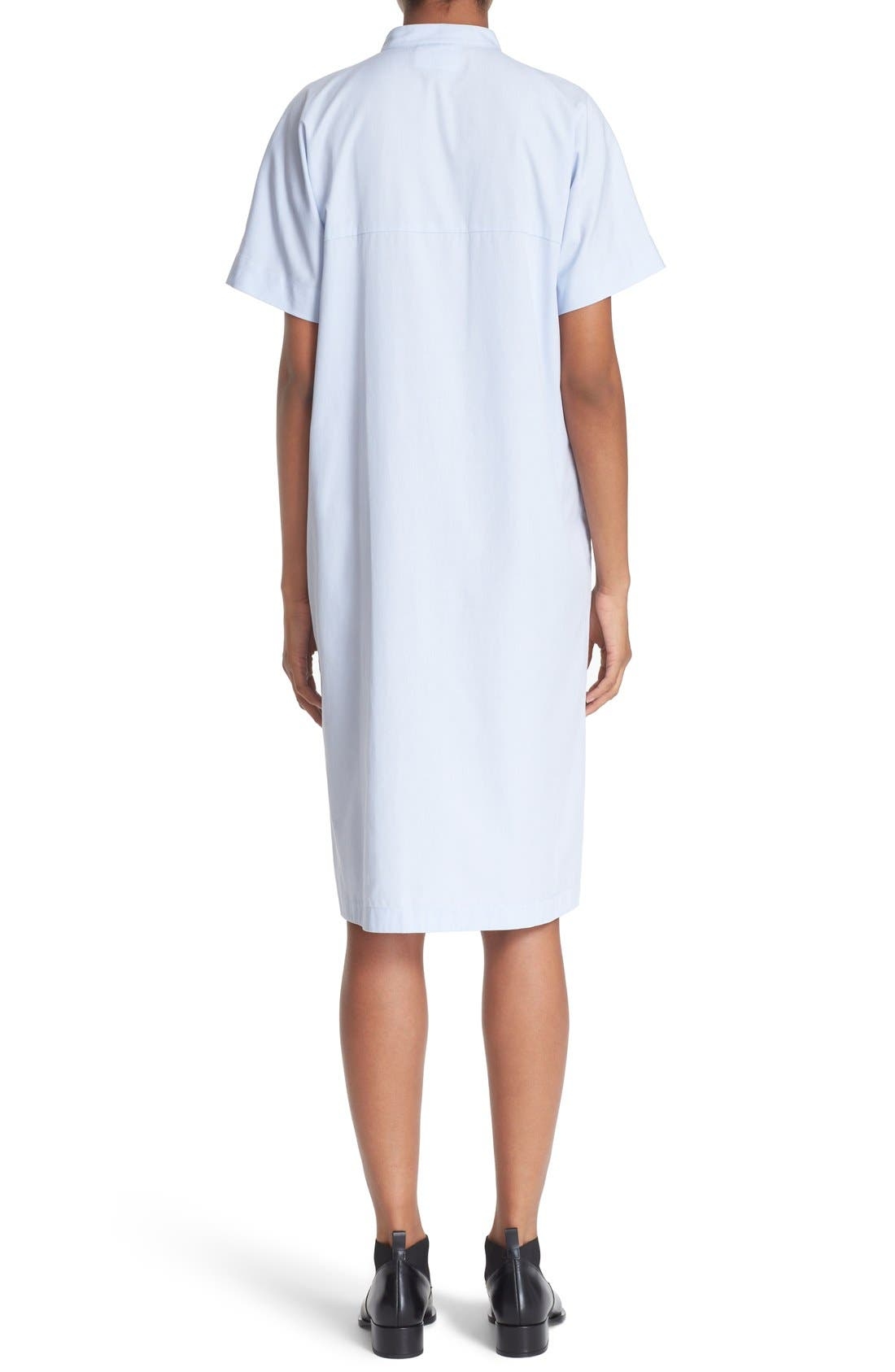 Cotton Shirtdress,                             Alternate thumbnail 3, color,                             456