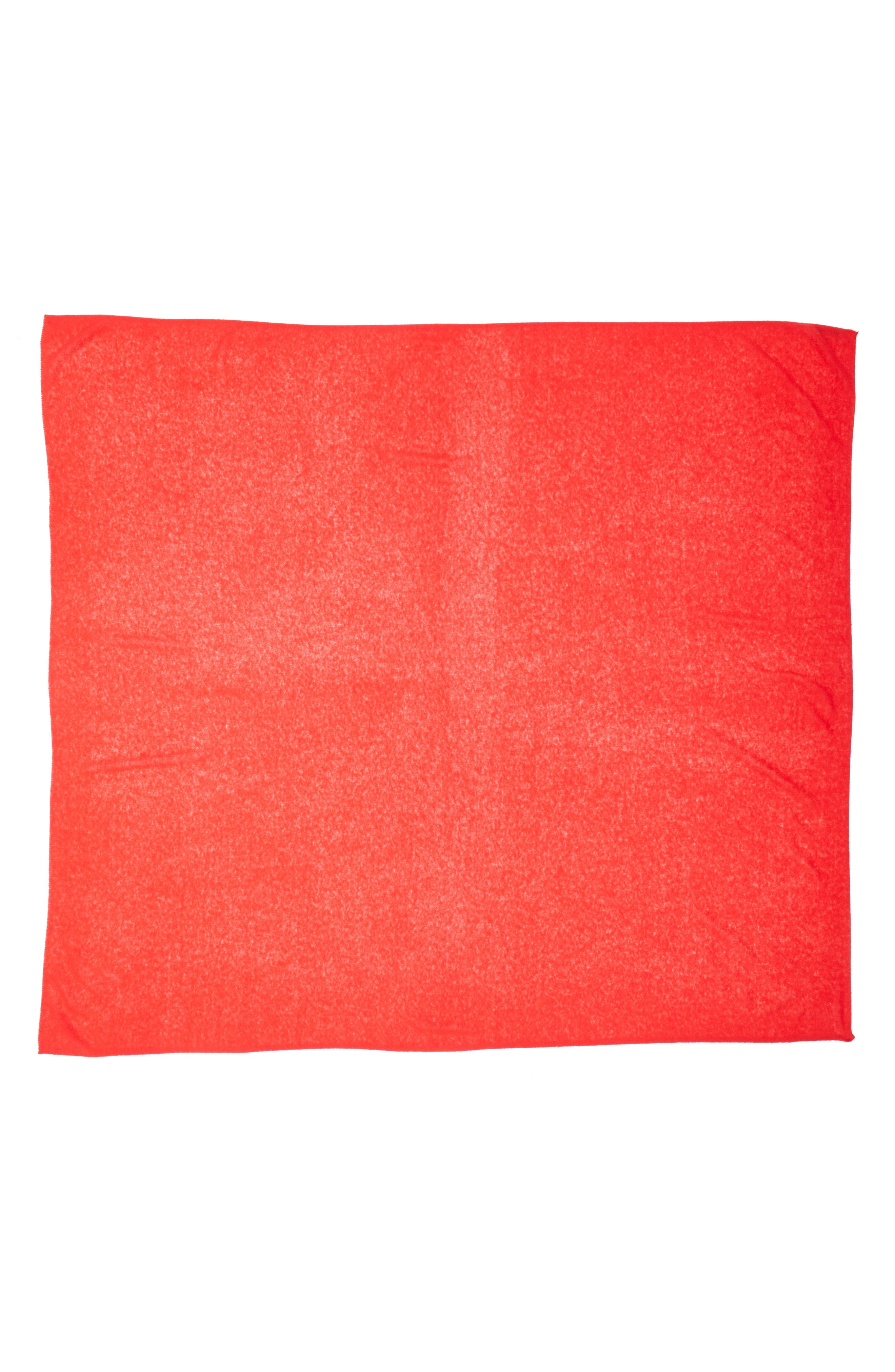Cashmere Scarf,                             Alternate thumbnail 3, color,                             RED CHINOISE