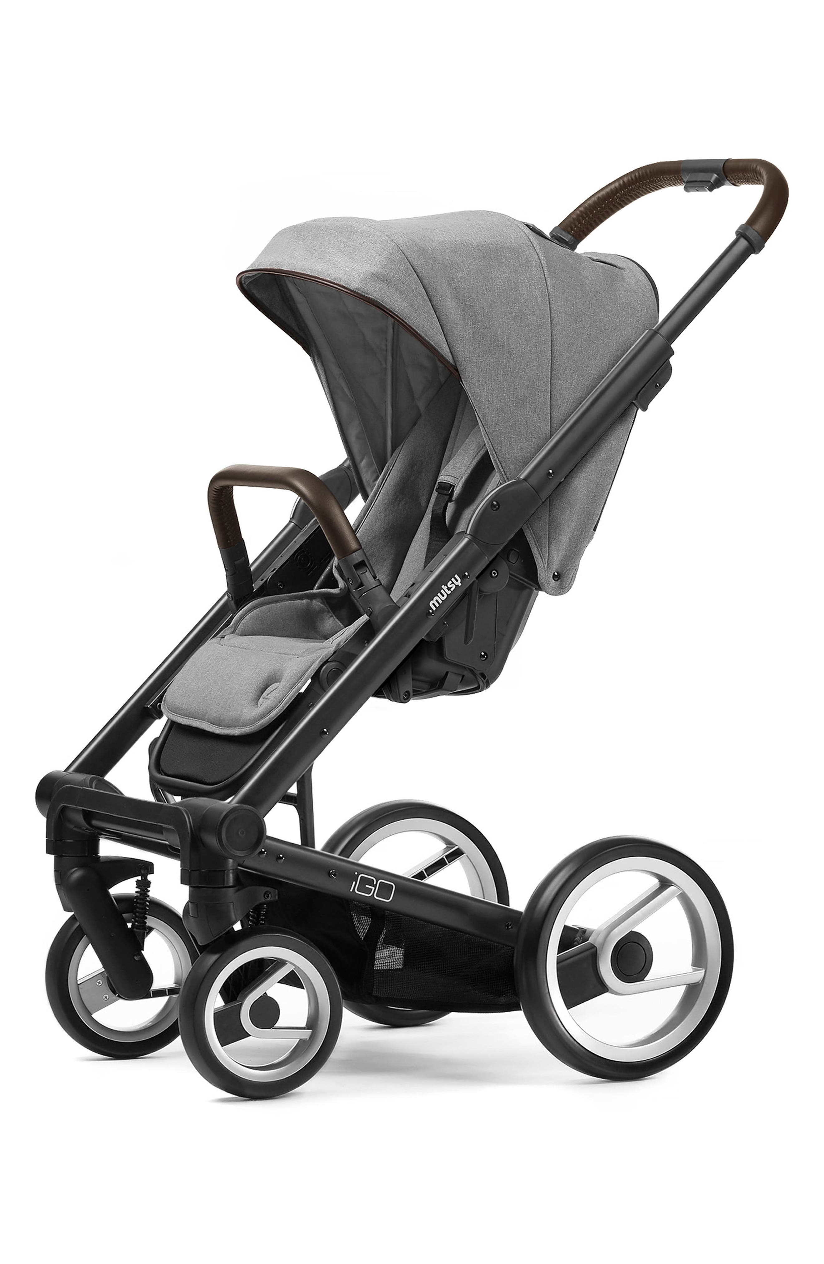 Igo - Farmer Earth Stroller,                         Main,                         color, BLACK