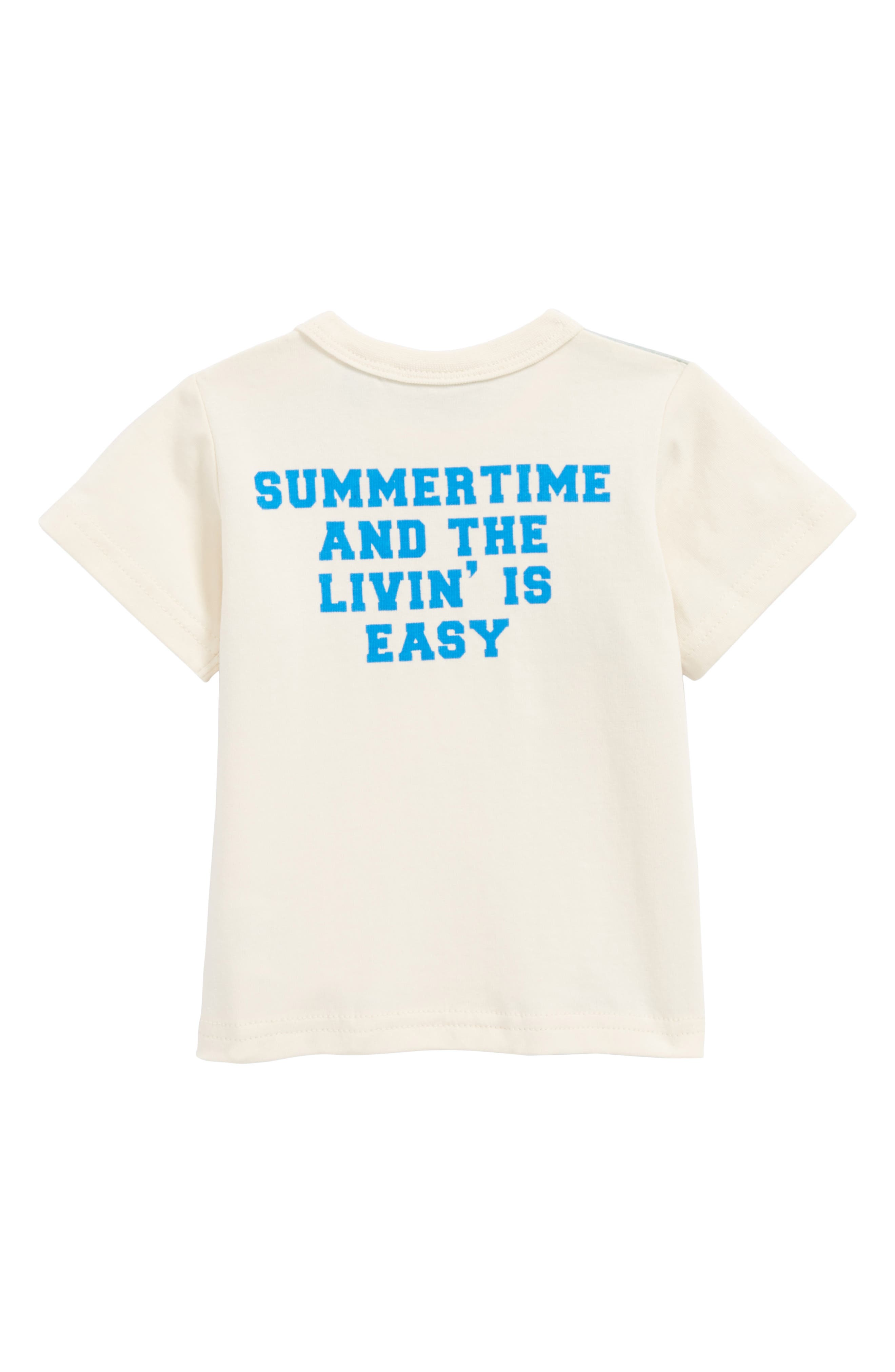 Summertime Lion Graphic T-Shirt,                             Alternate thumbnail 2, color,                             902