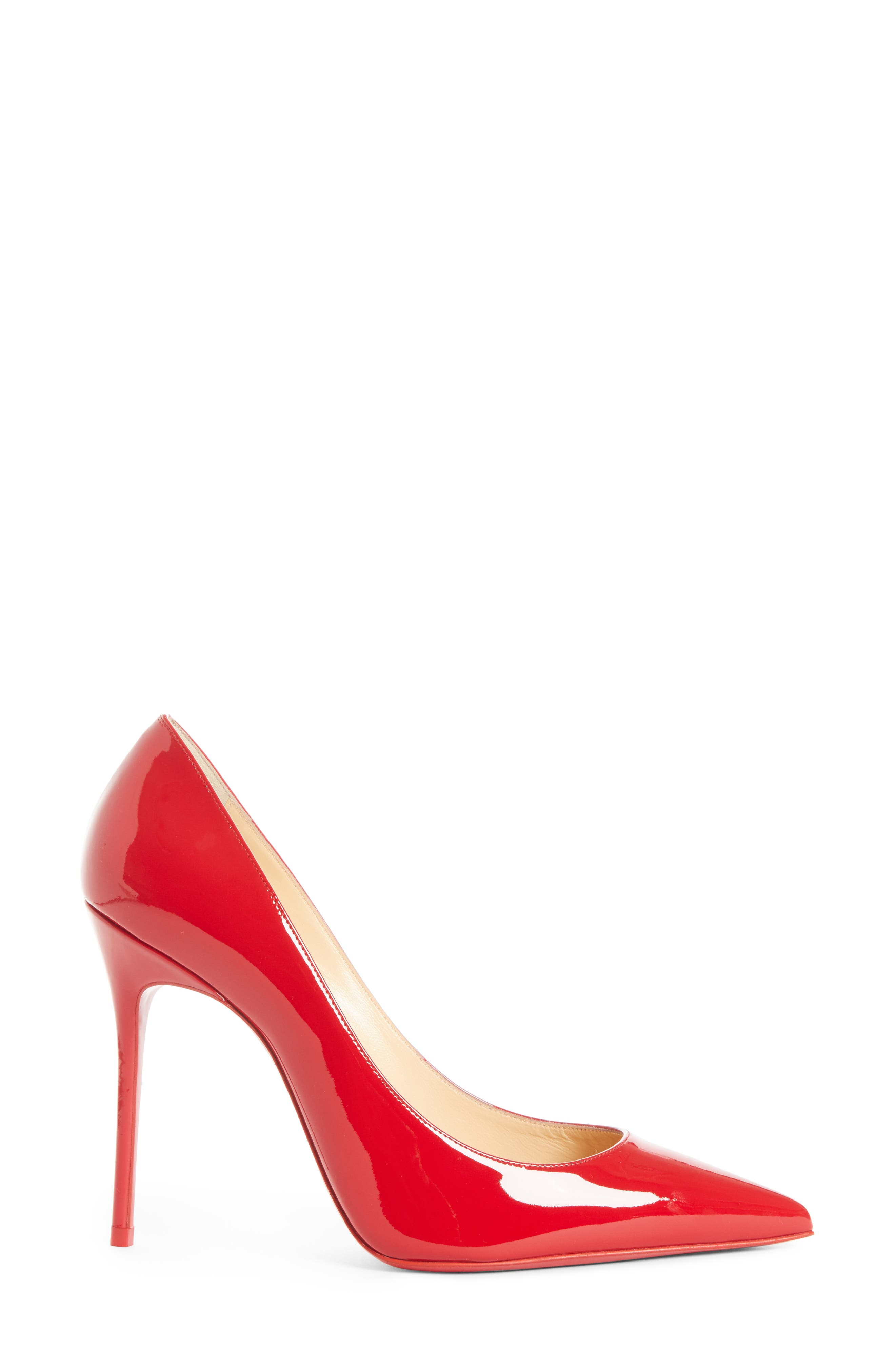'Decollete' Pointy Toe Pump,                             Alternate thumbnail 3, color,                             623